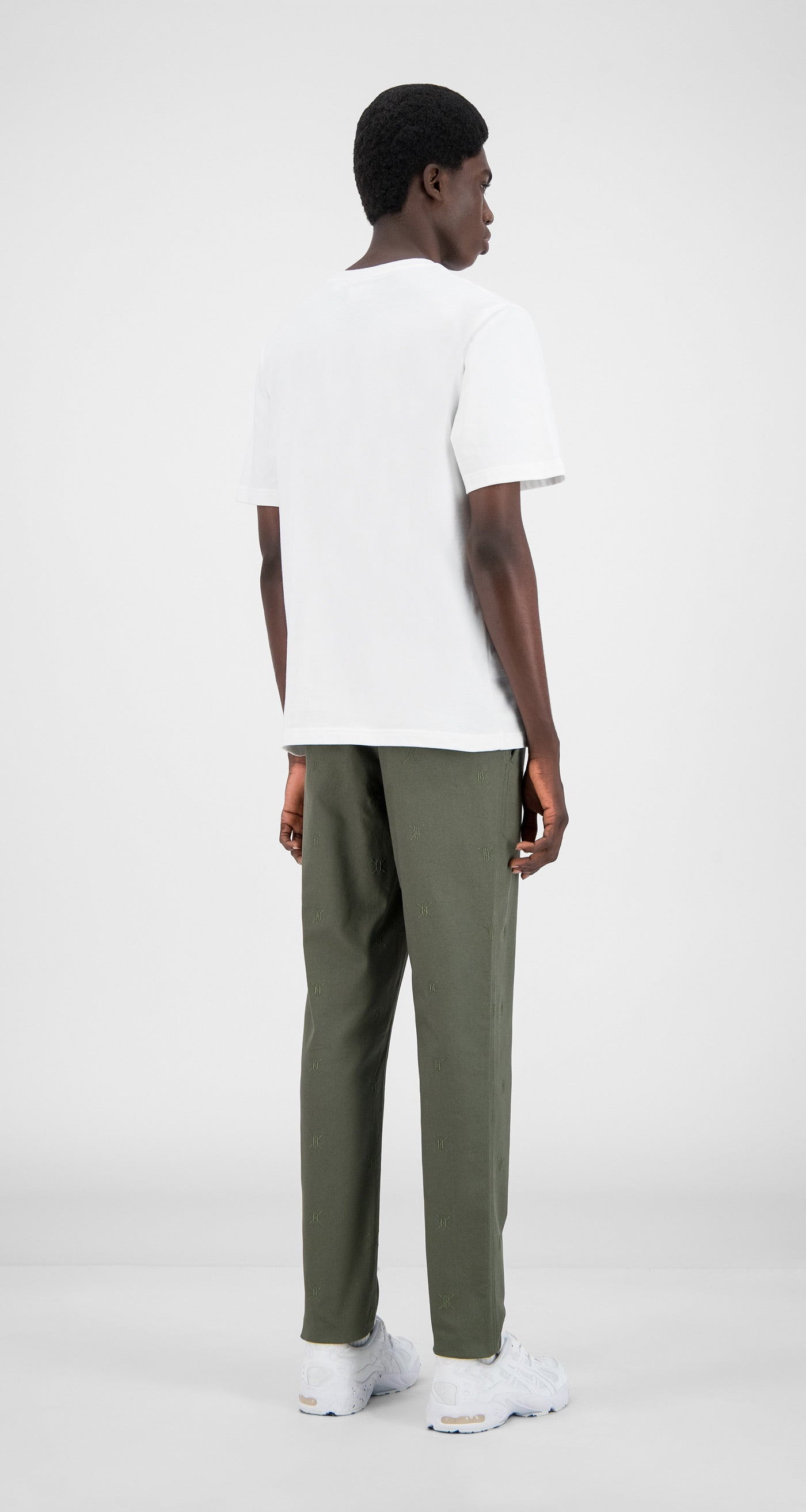 Daily Paper - Grape Leaf Green Kenya Pants - Men Rear