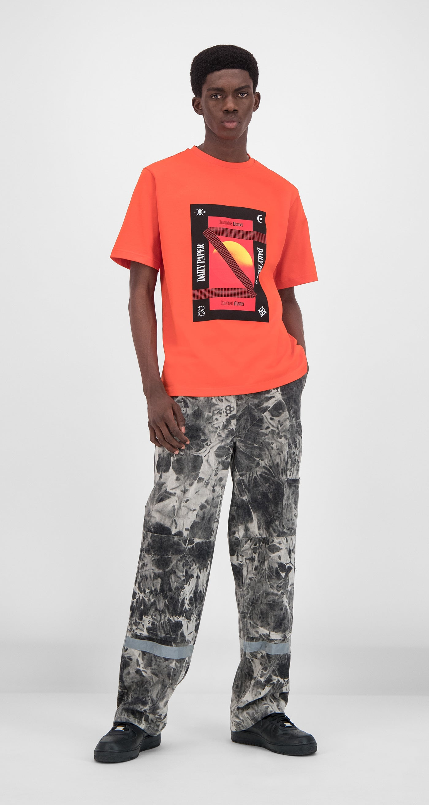 Daily Paper - Orange Genpoin T-Shirt Men