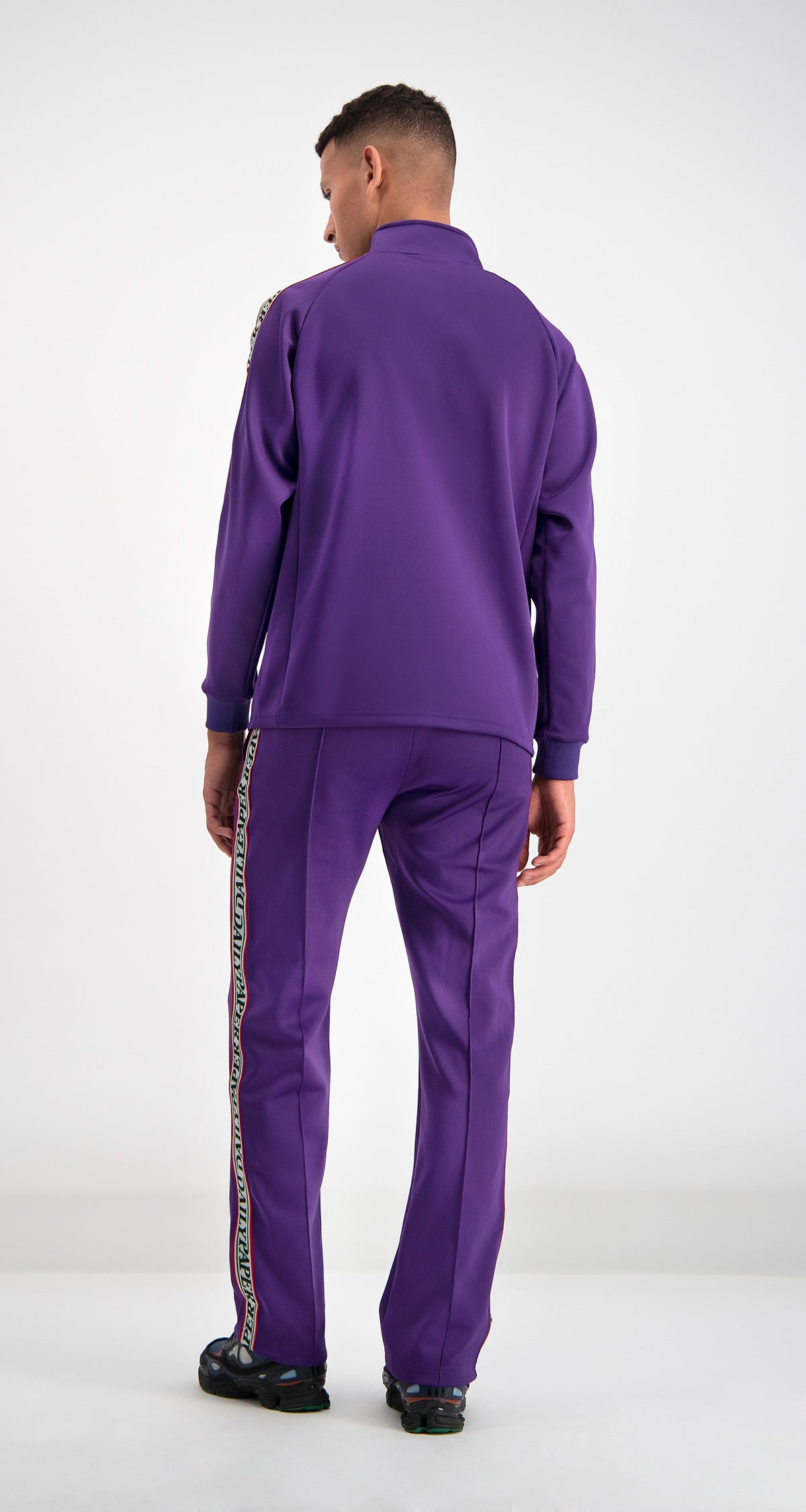 Purple Dapevest Track Top