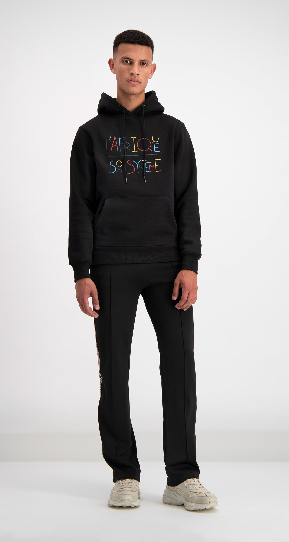 Daily Paper - Black Dafrique Hoody