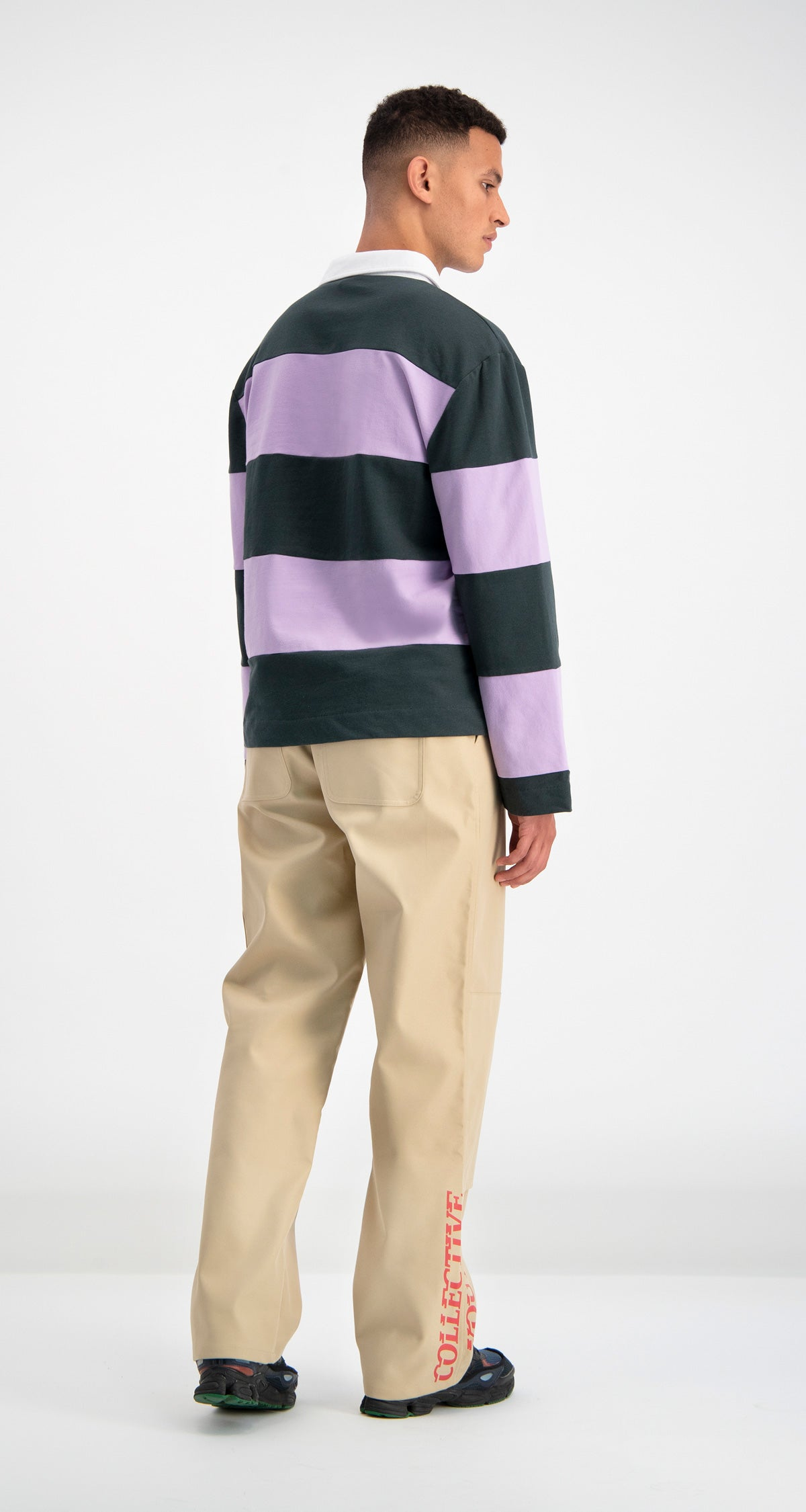 Lilac Striped Droke Longsleeve
