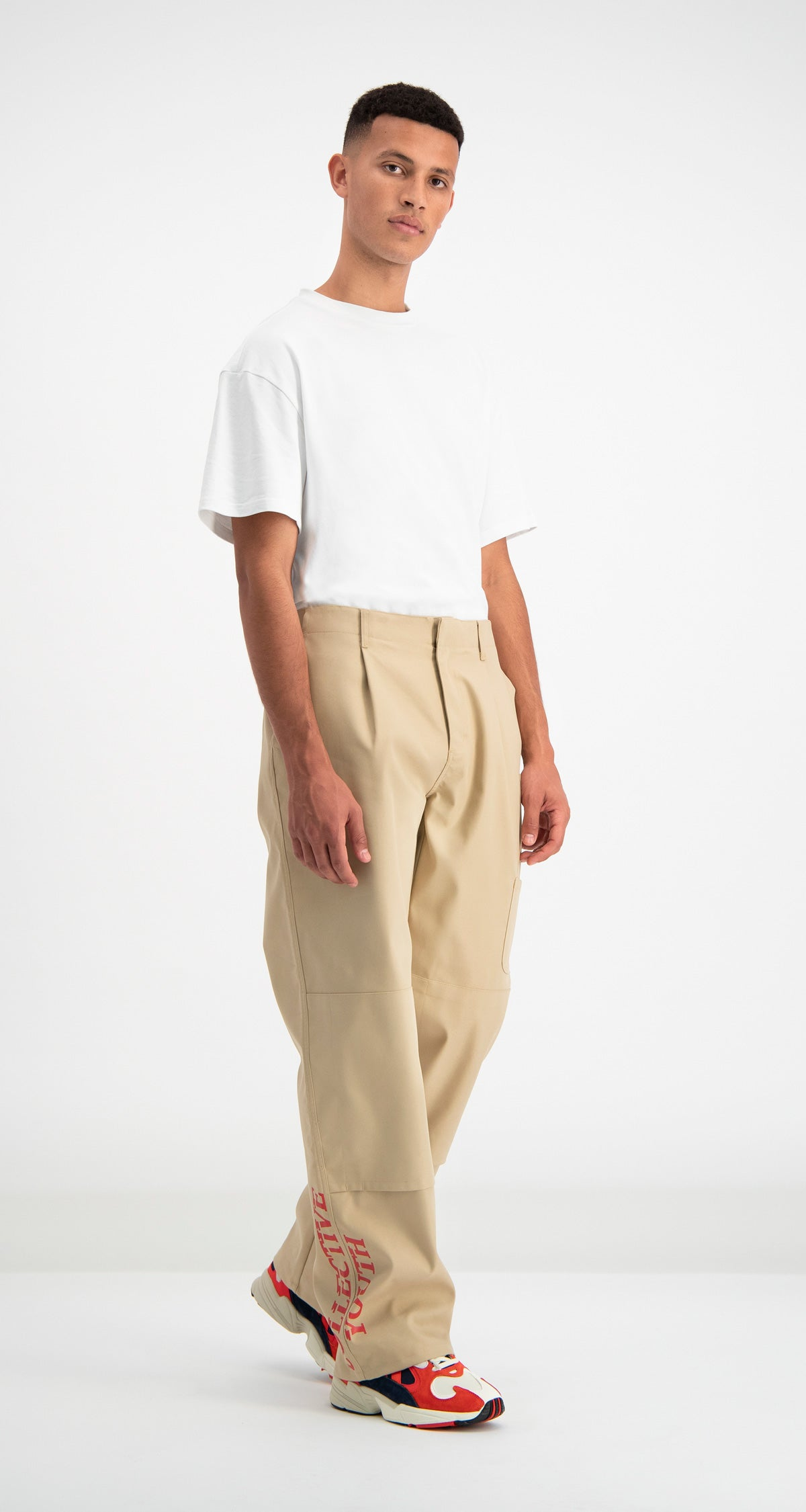 Daily Paper - Beige Defac Pants Men