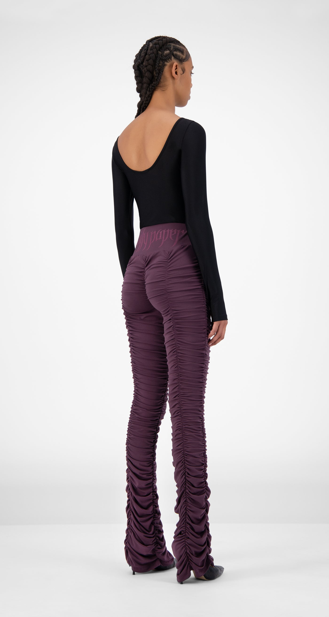Daily Paper - Purple Jaanai Pants - Women Rear