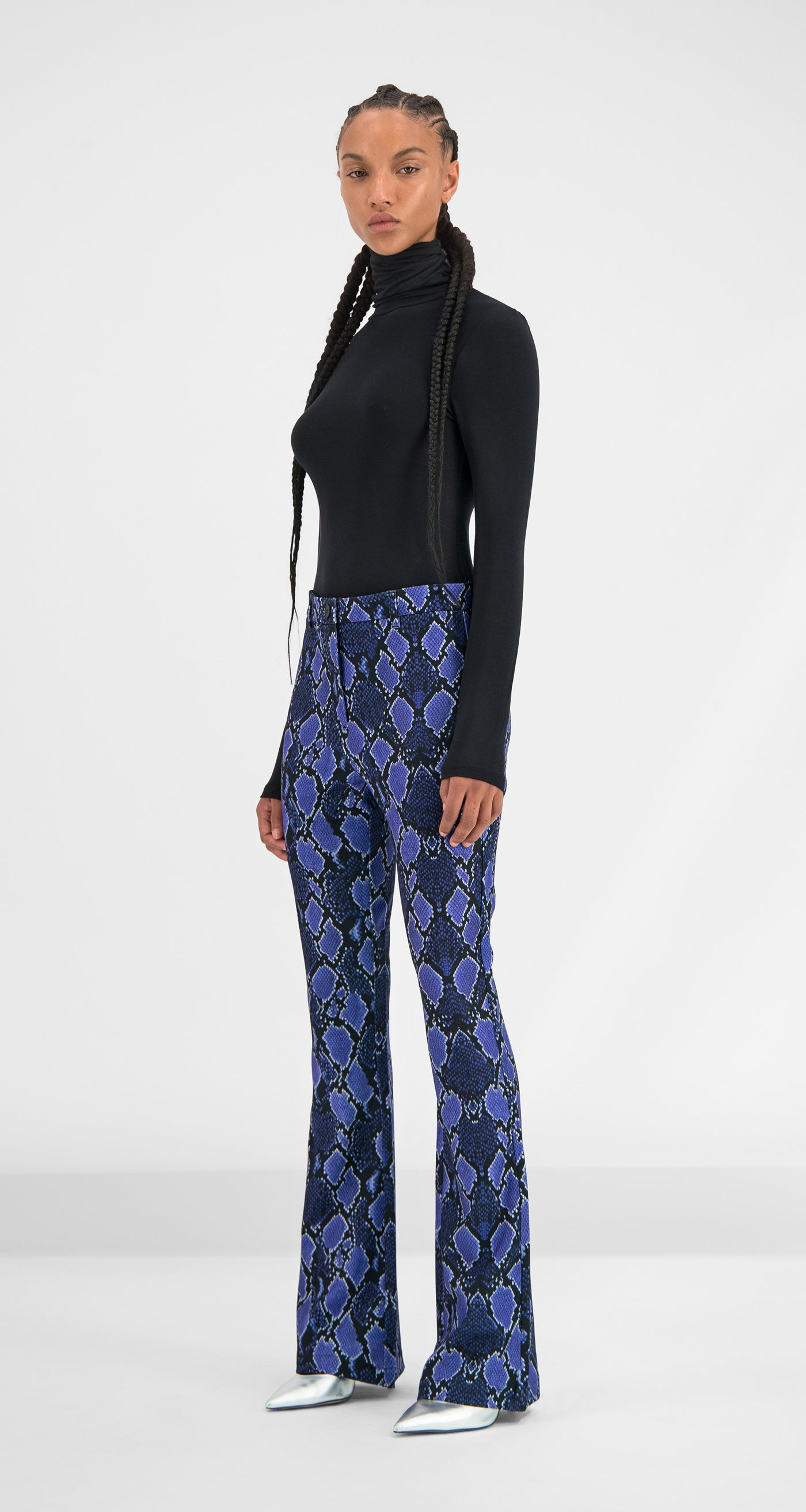 Daily Paper - Purple Snake Gady Pants Women