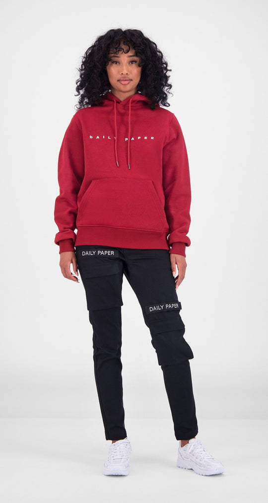 Daily Paper - Red Alias Hoody Women Front