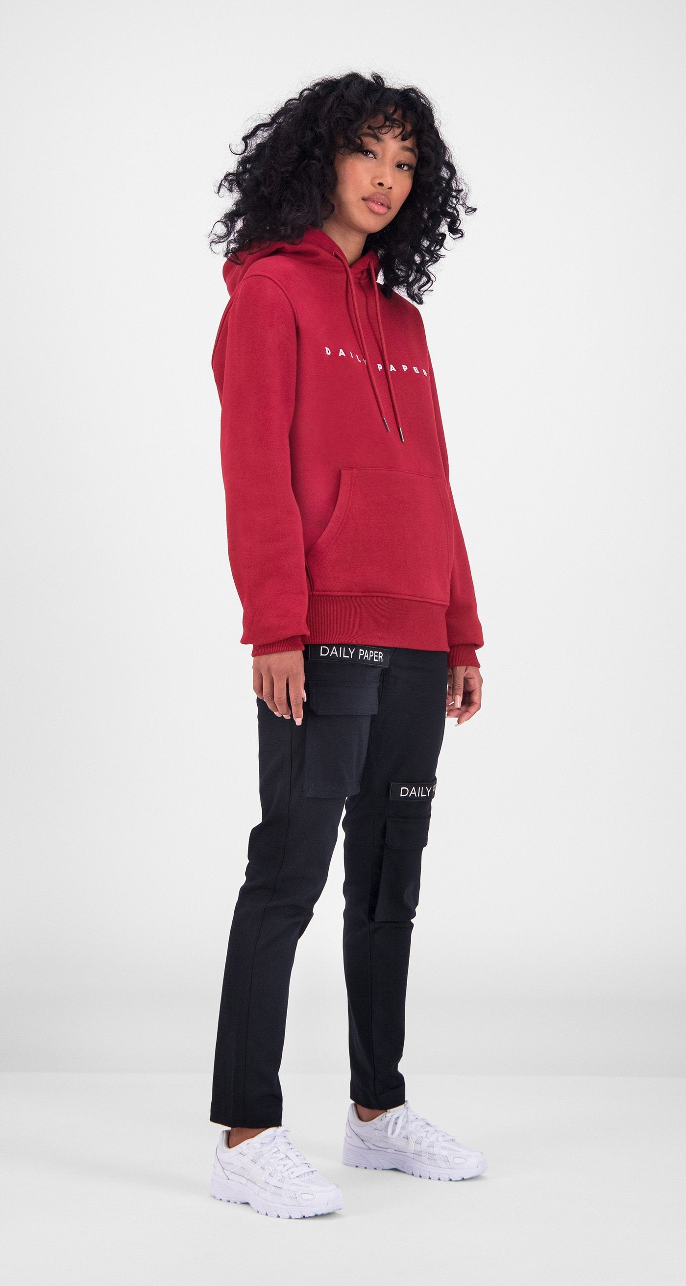 Daily Paper - Red Alias Hoody Women