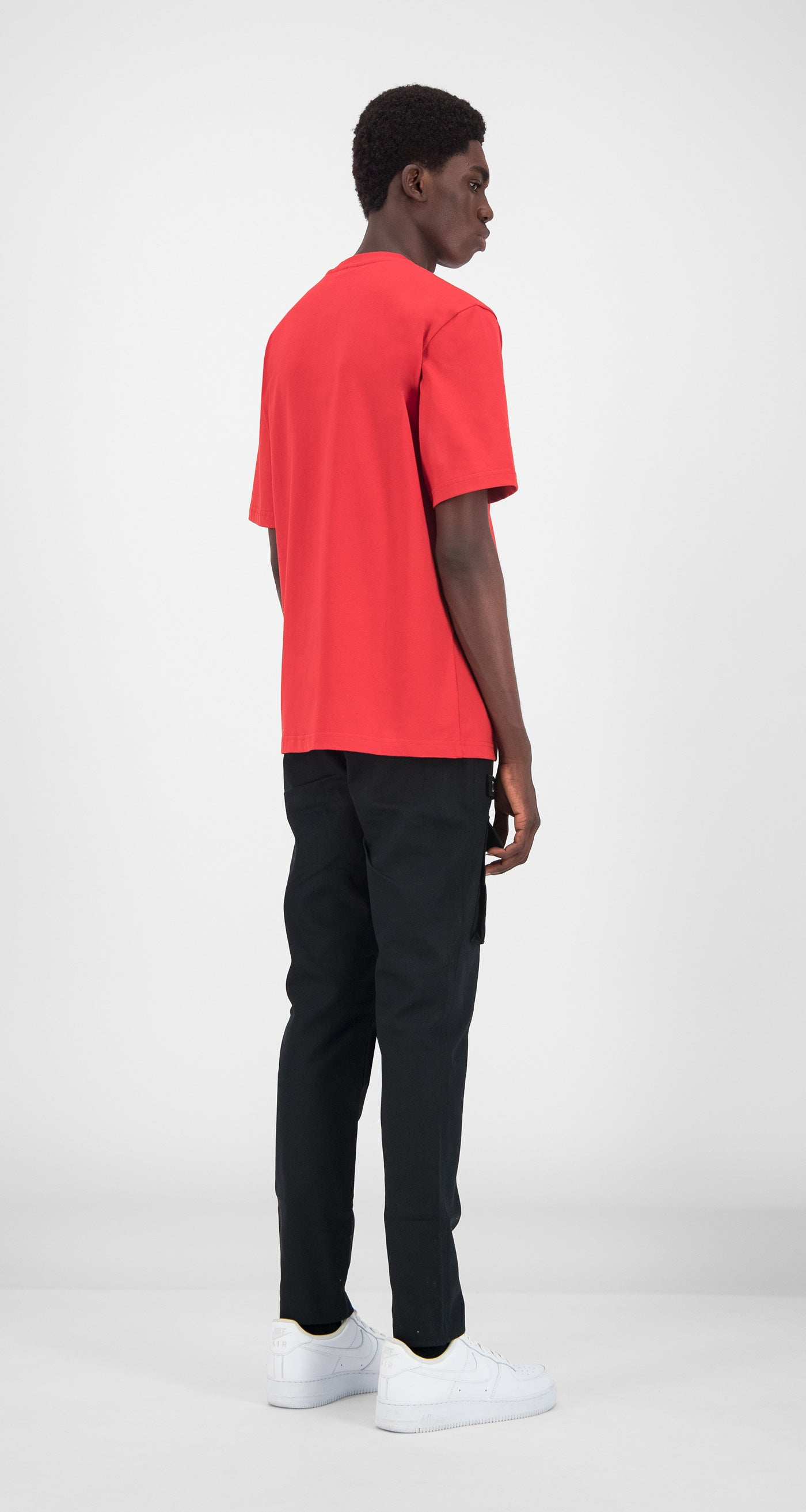 Daily Paper - Red Essential T-Shirt Men Rear