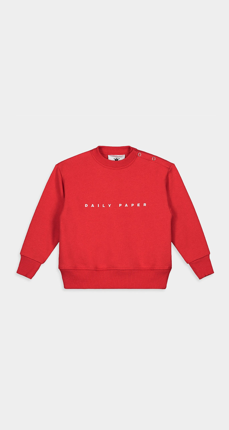 Daily Paper - Red Kids Alias Sweater Front
