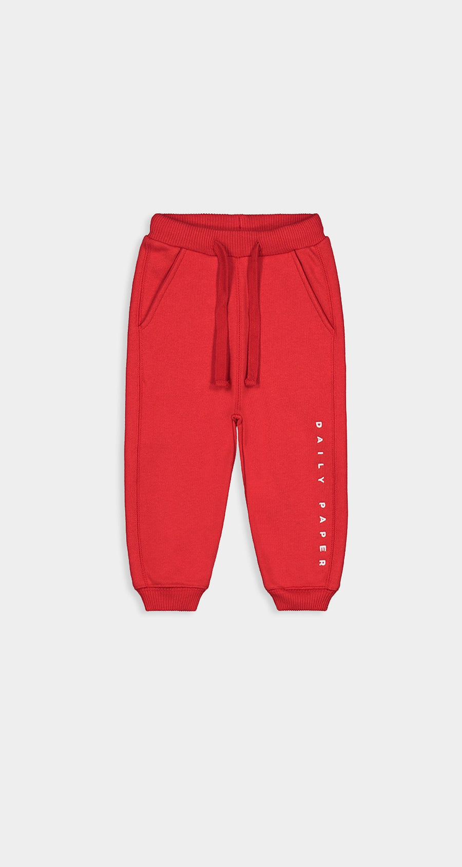 Daily Paper - Red Kids Alias Sweatpants Front