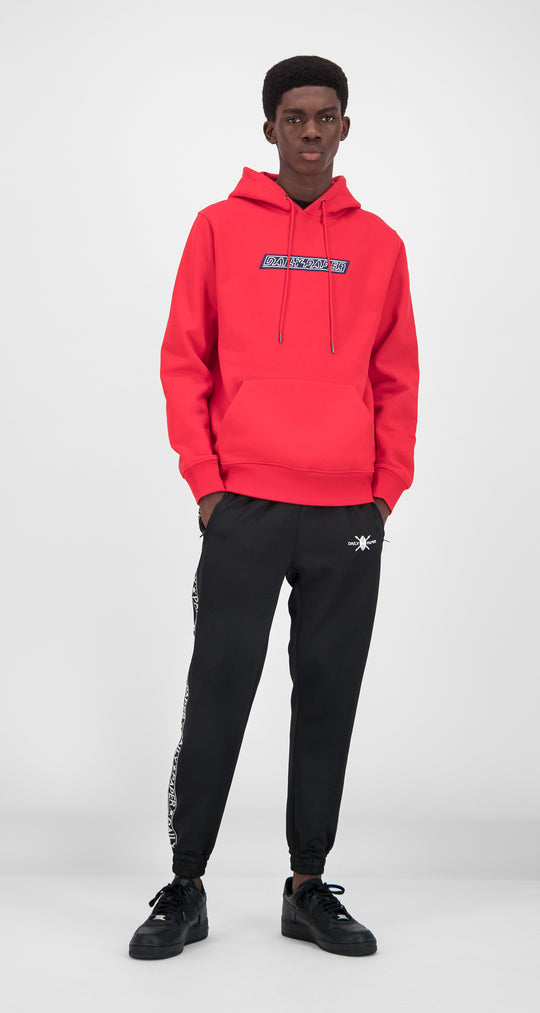 Daily Paper - Red Navy Copatch Hoody Men