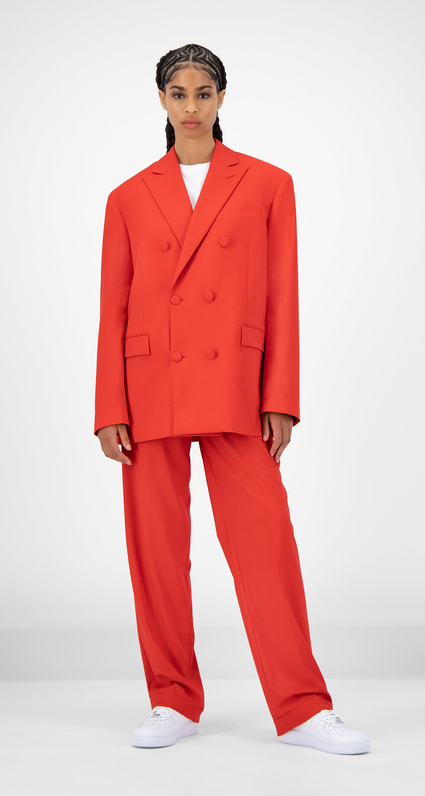 Daily Paper - Red Jecker Blazer - Women