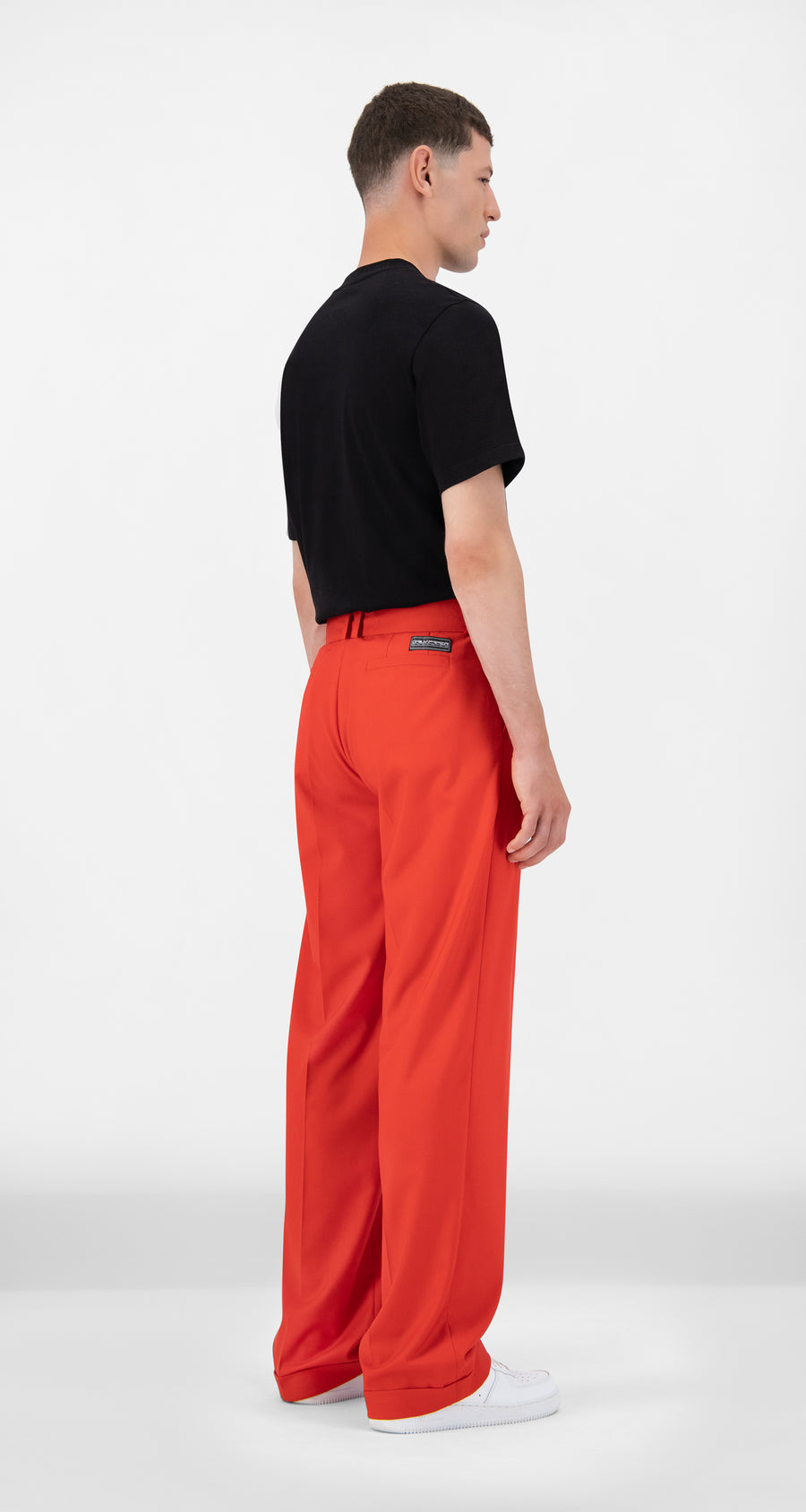 Daily Paper - Red Jiro Pants - Men Rear