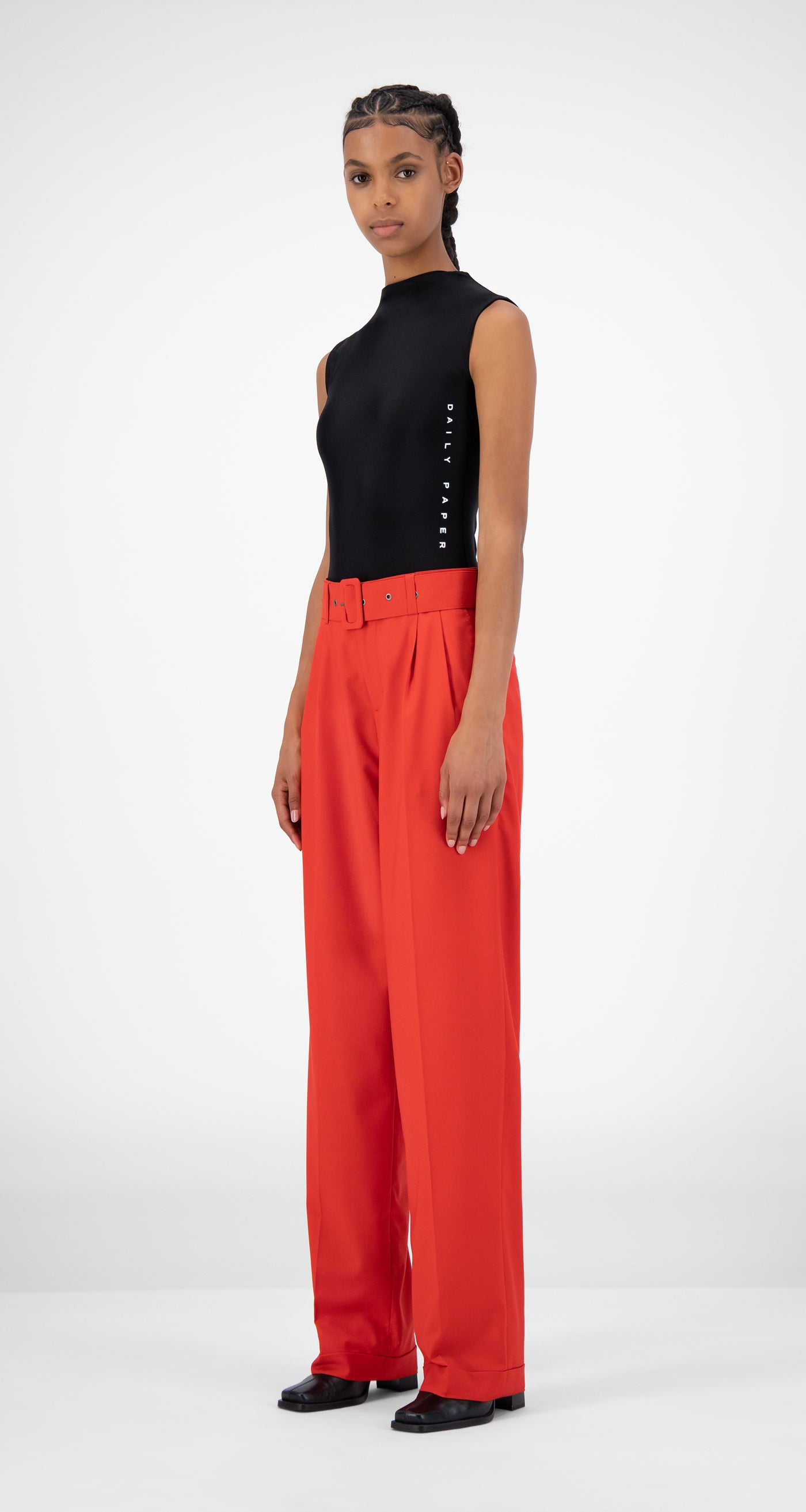 Daily Paper - Red Jiro Pants - Women
