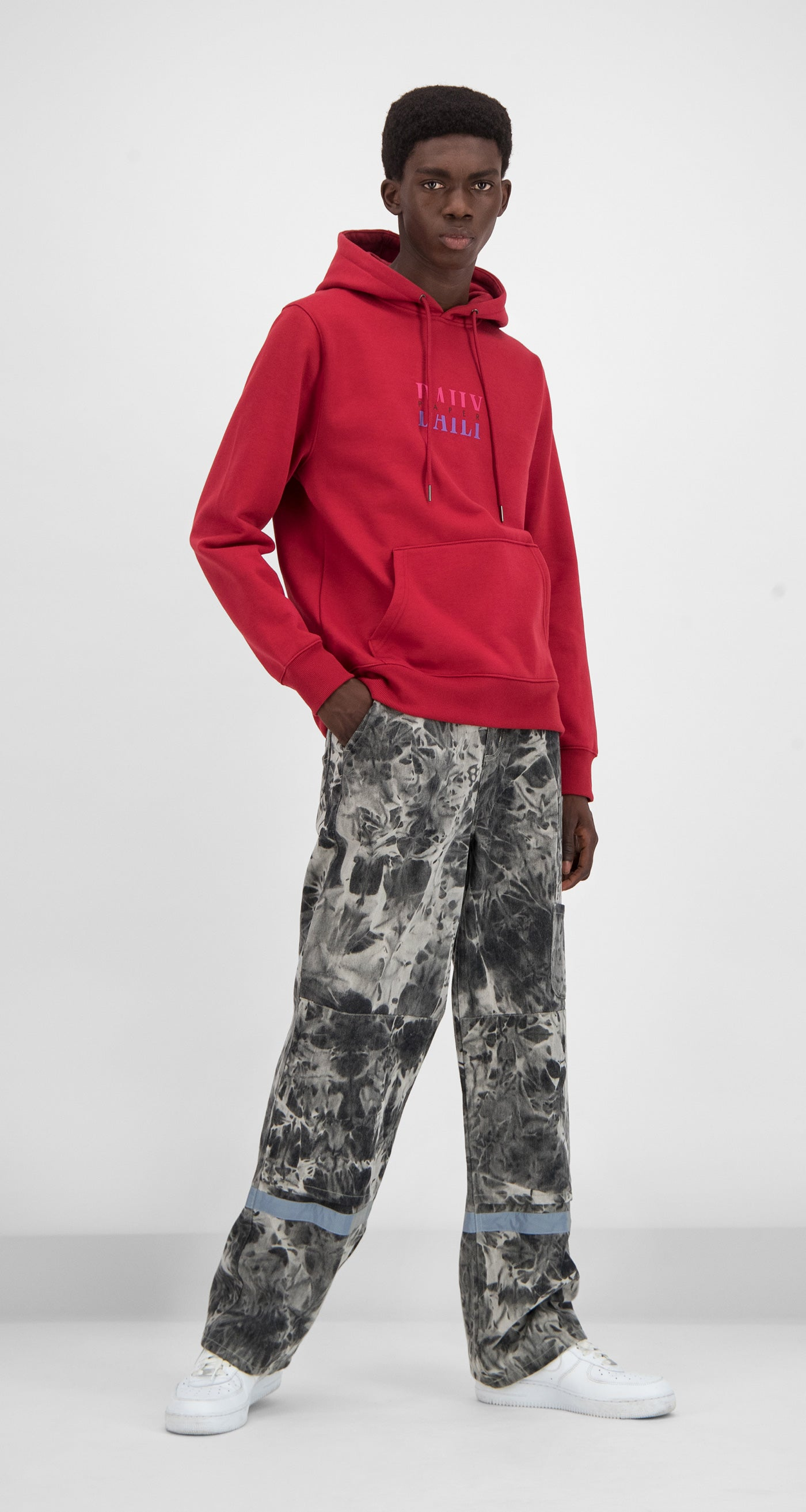 Daily Paper - Red Gario Hoody Men