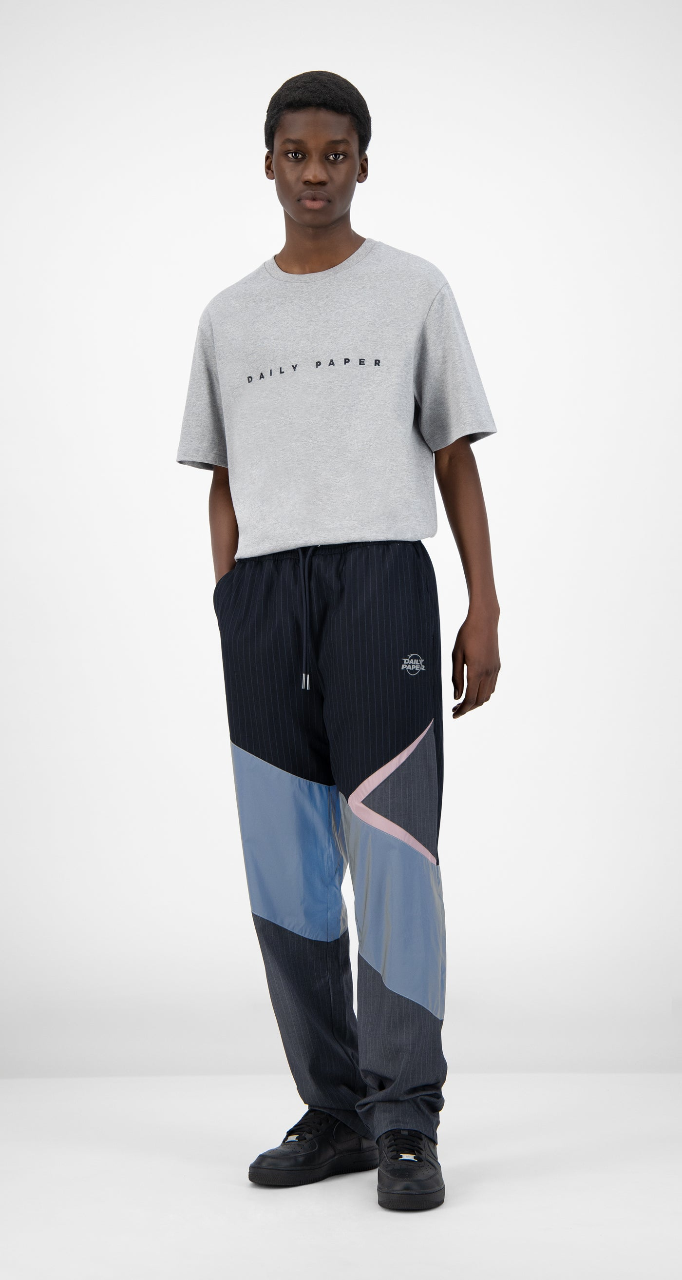 Daily Paper - Reflective Grey Jachin Pants - Men