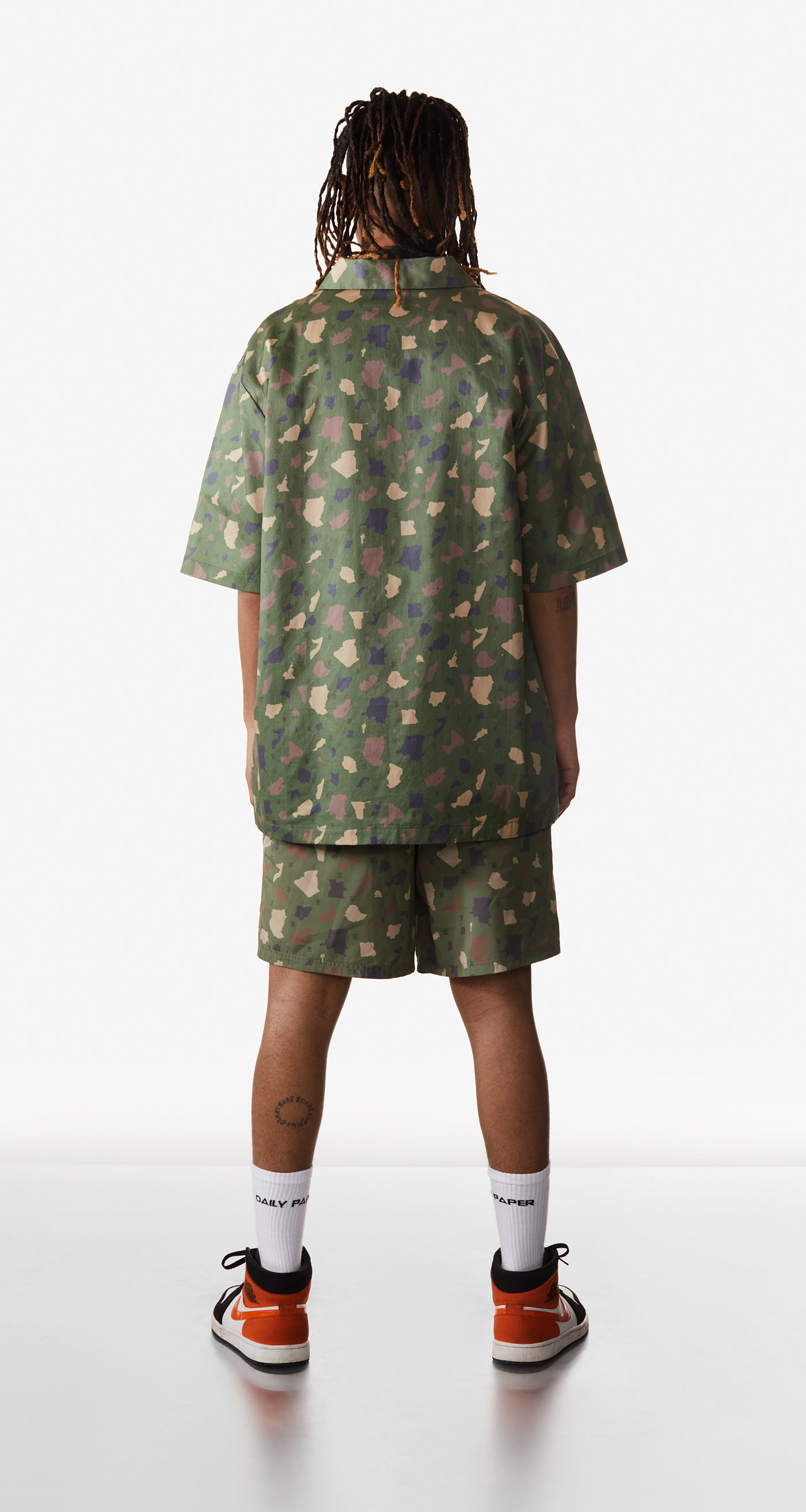 Daily Paper - Green Camo Recomo Shirt - Men