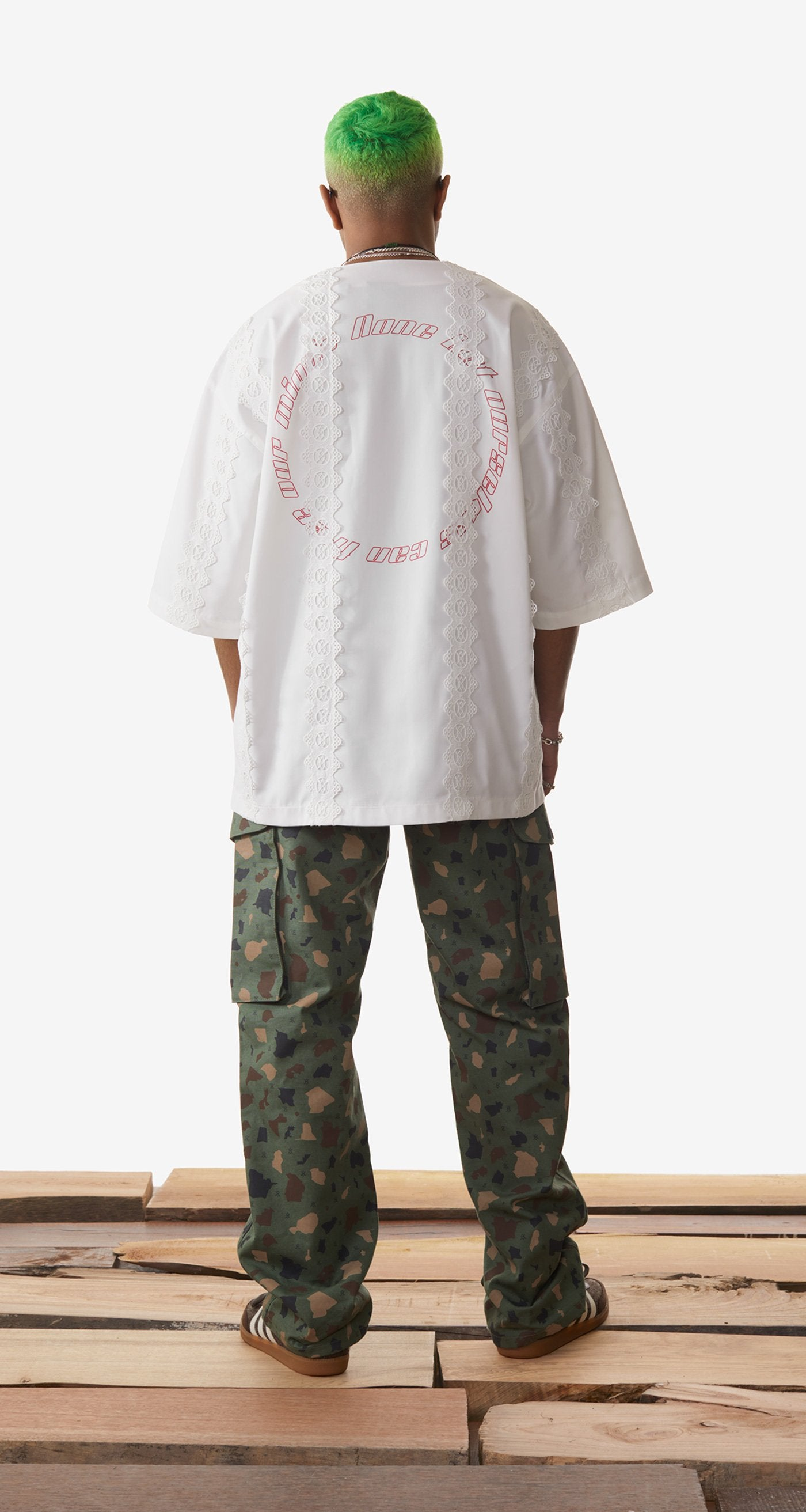 Daily Paper - Off White Khalaf Shirt - Men