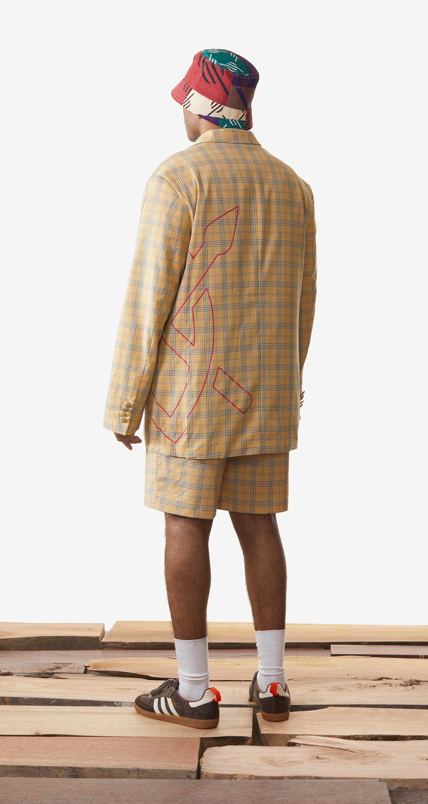 Daily Paper - Yellow Checked Keany Blazer - Men