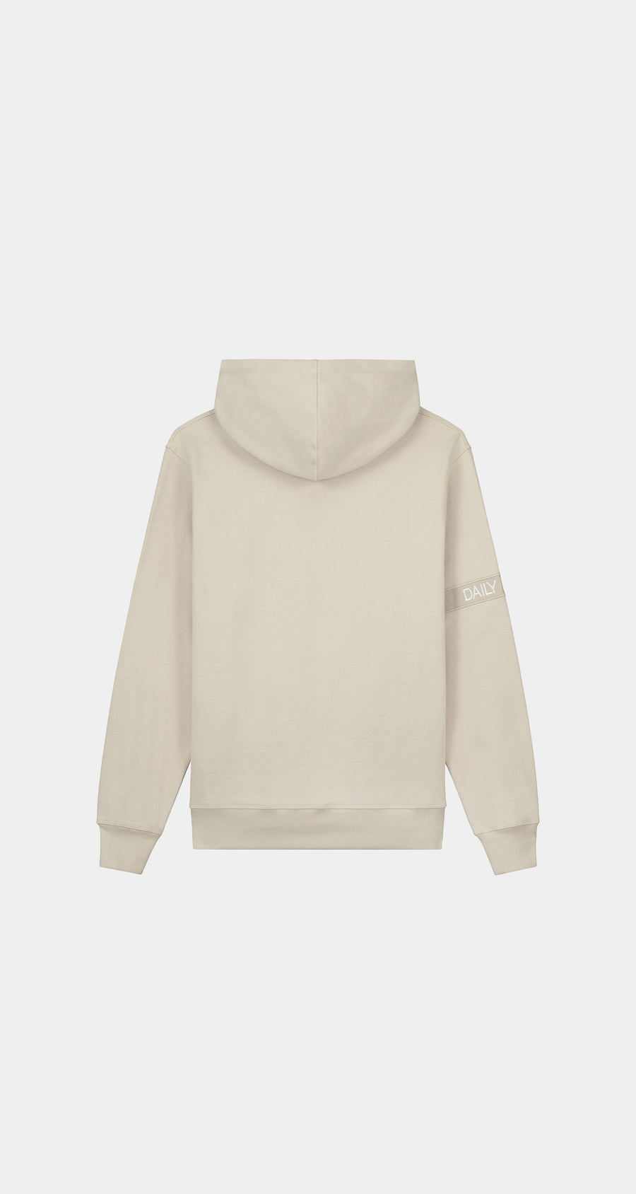Daily Paper - Beige Tonal Captain Hoody - Men Rear