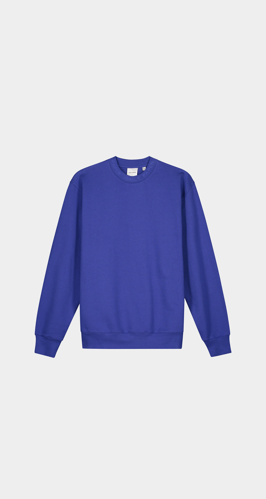 Daily Paper - Blue Derib Sweater - Men Front