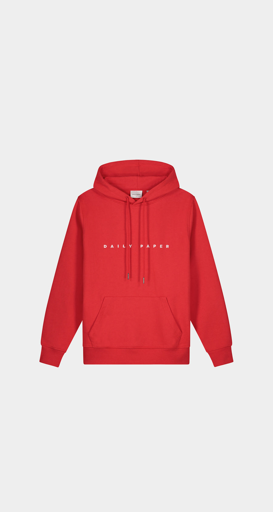 Daily Paper - Red Elias Hoody - Men Front