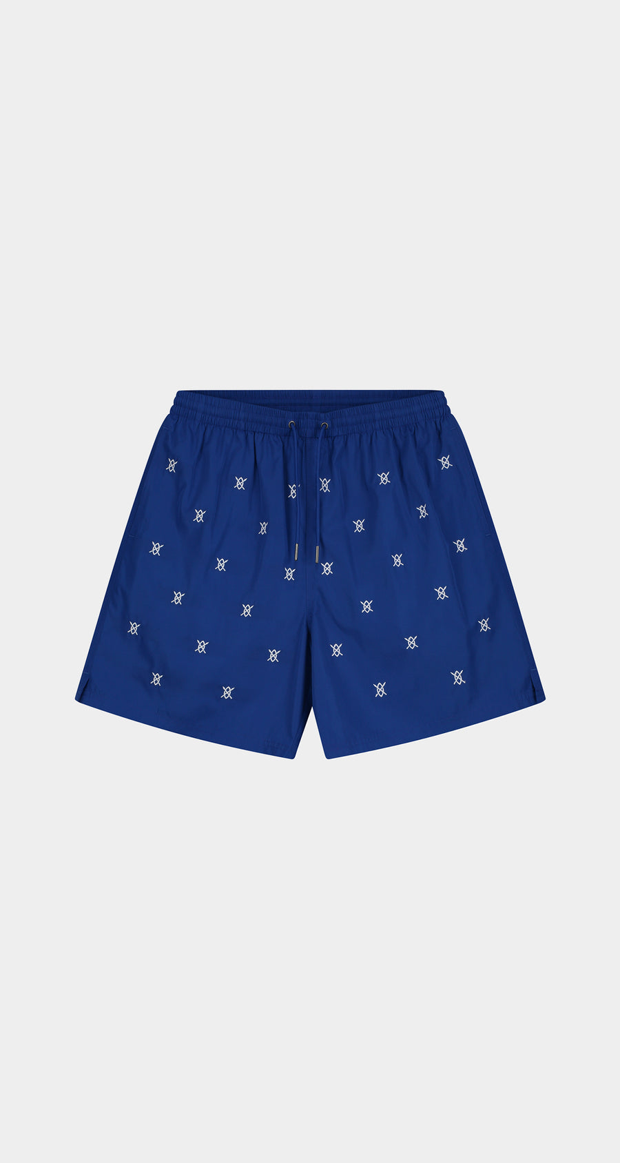 Daily Paper - Blue Eswim Shorts - Men Front