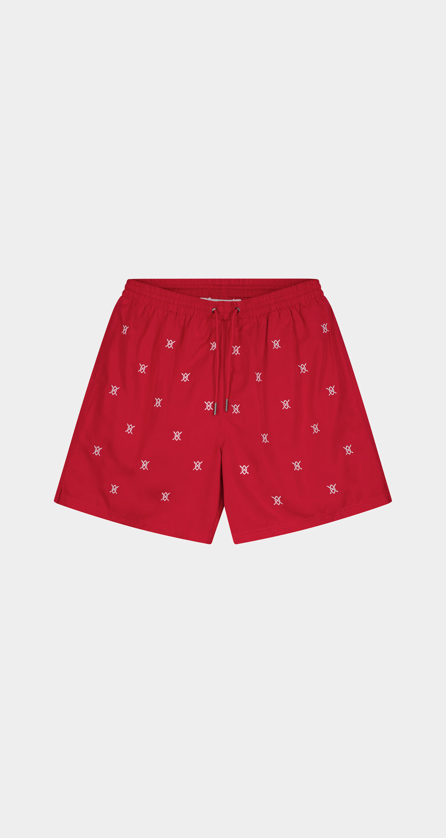 Daily Paper - Red Eswim Shorts - Men Front