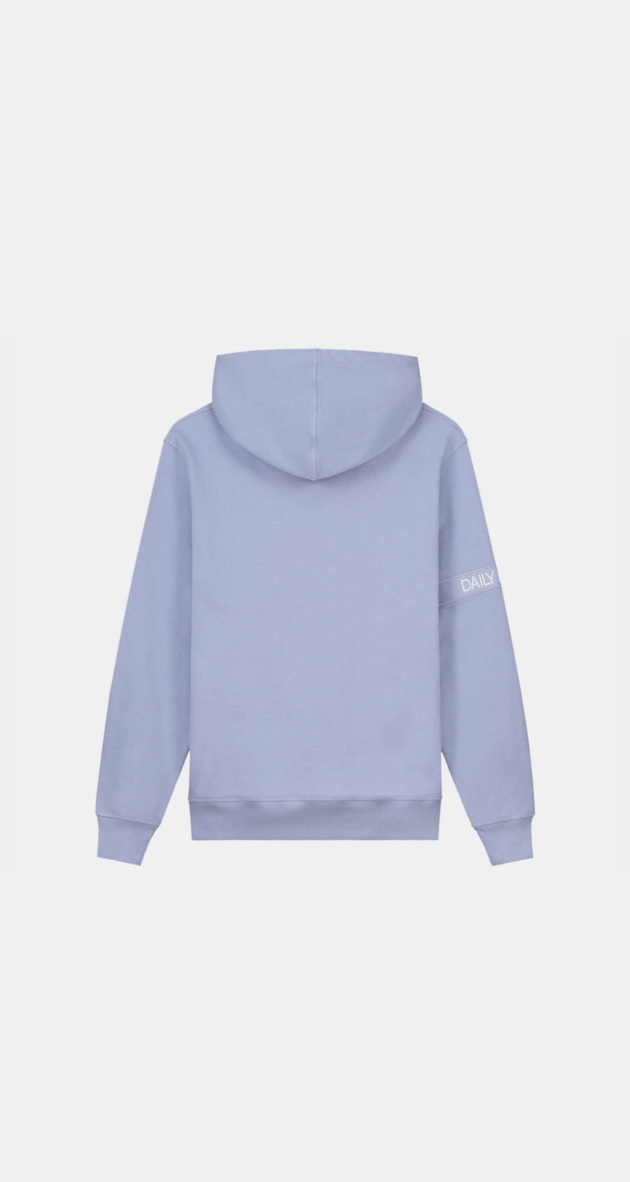 Daily Paper - Jacaranda Purple Tonal Captain Hoody - Men Rear