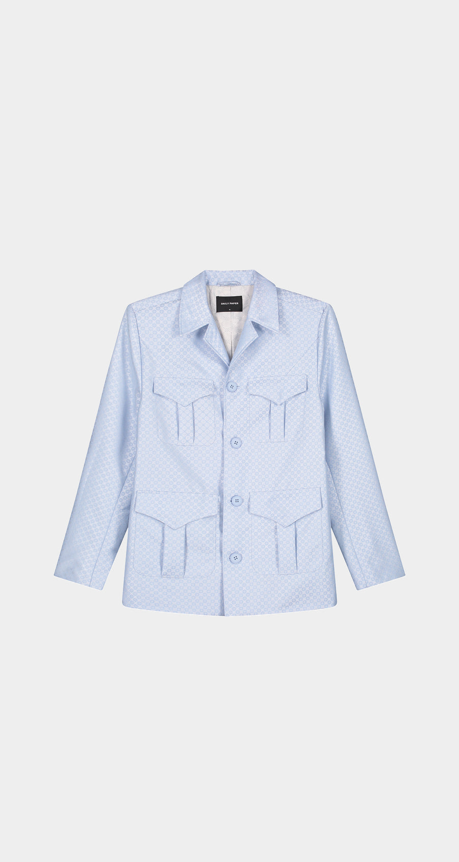 Daily Paper - Light Blue Kadir Blazer - Men Front
