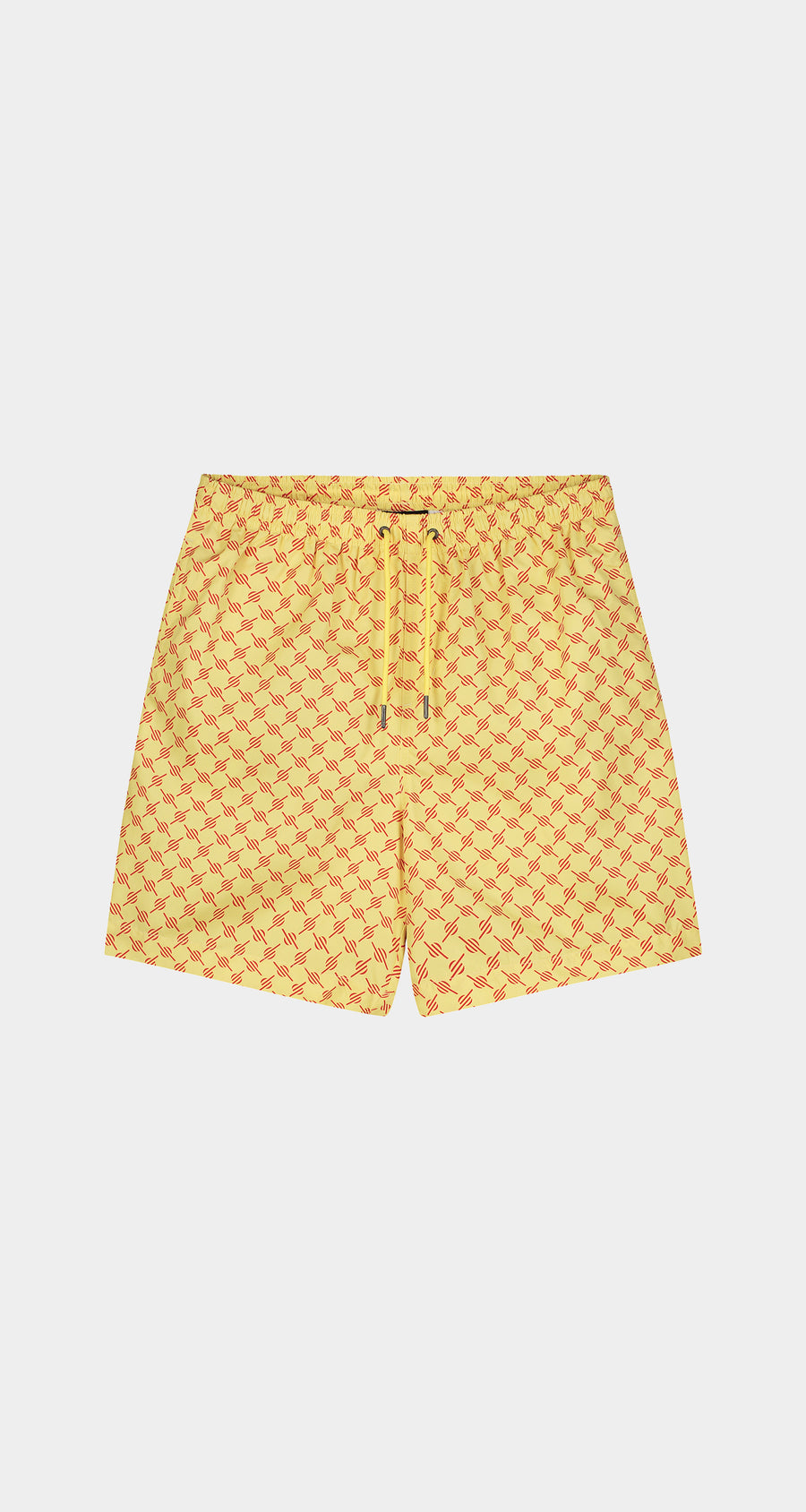 Daily Paper - Yellow Red Monogram Kali Shorts - Men Front