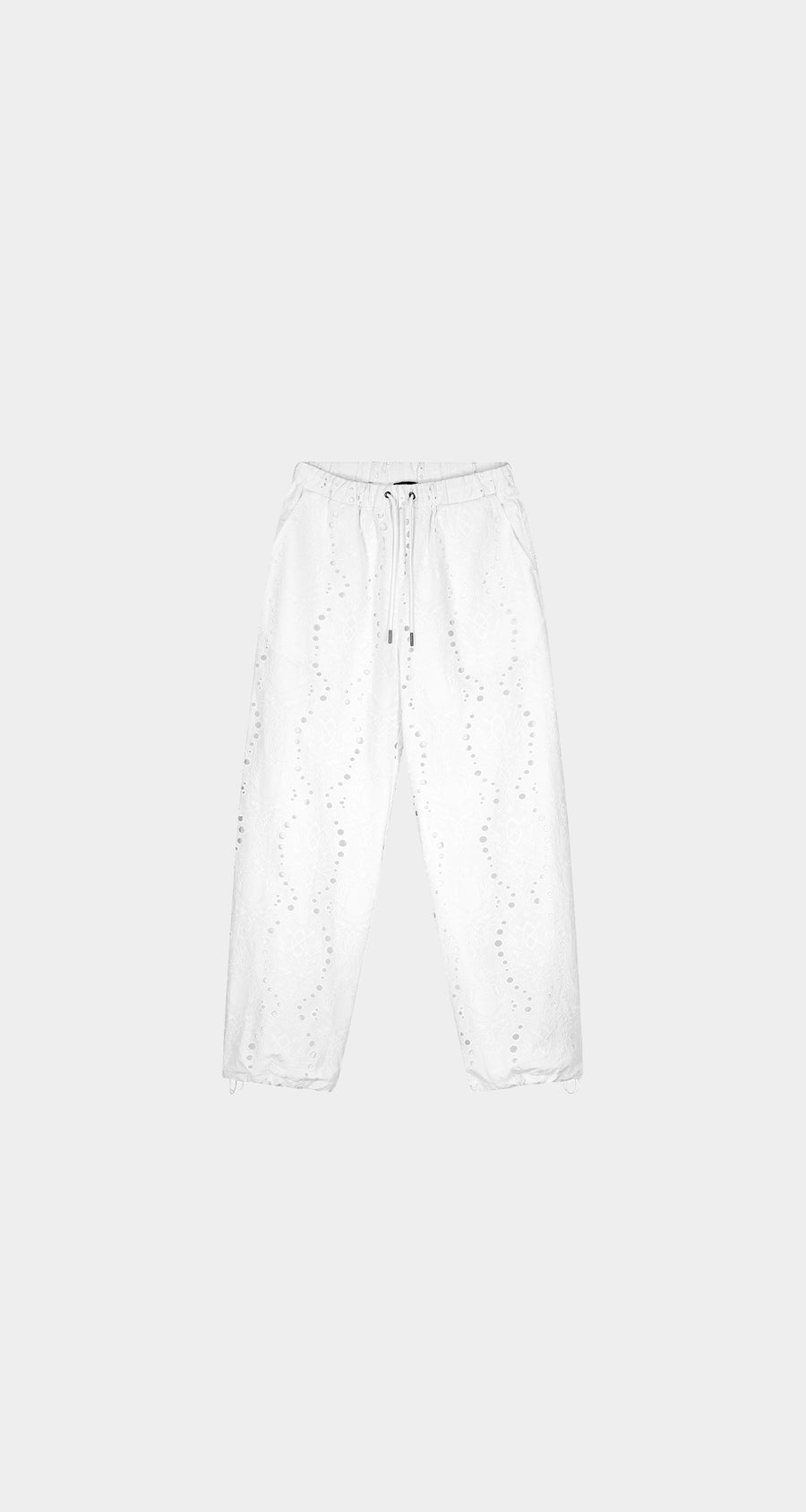 Daily Paper - White Kareem Pants - Men Front