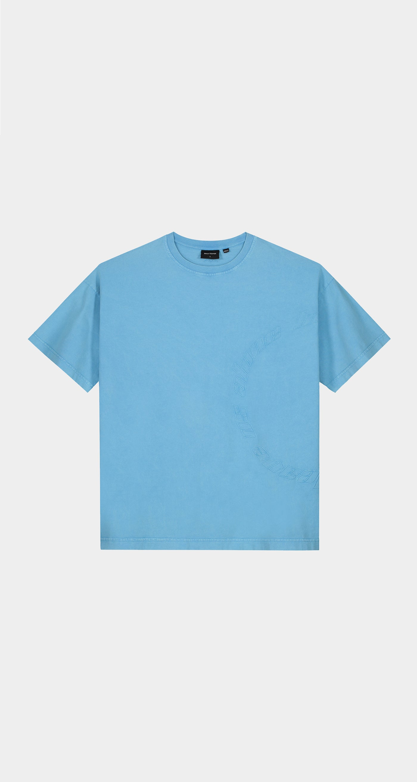 Daily Paper - Swedish Blue Kenspla T-Shirt - Men Front