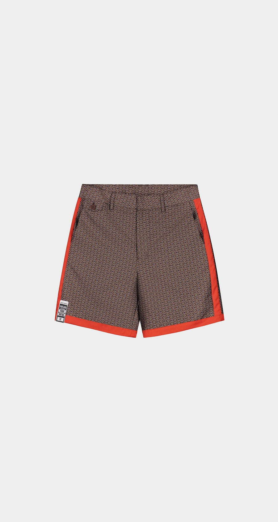 Daily Paper - Brown Kenton Shorts - Men Front