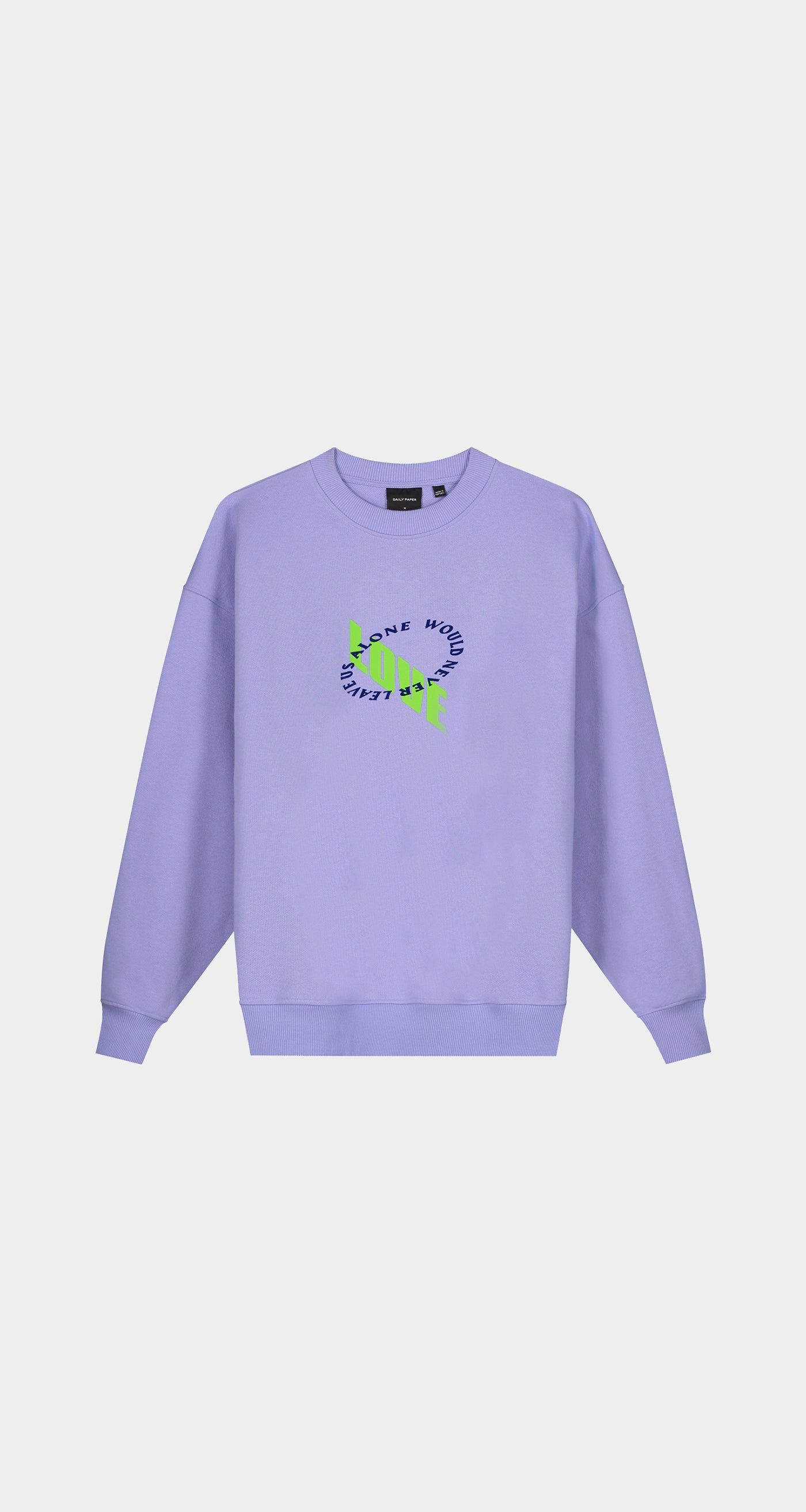 Daily Paper - Jacaranda Purple Kerjac Sweater - Men Front