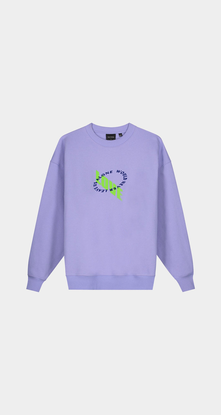 Daily Paper - Jacaranda Purple Kerjac Sweater - Women Front