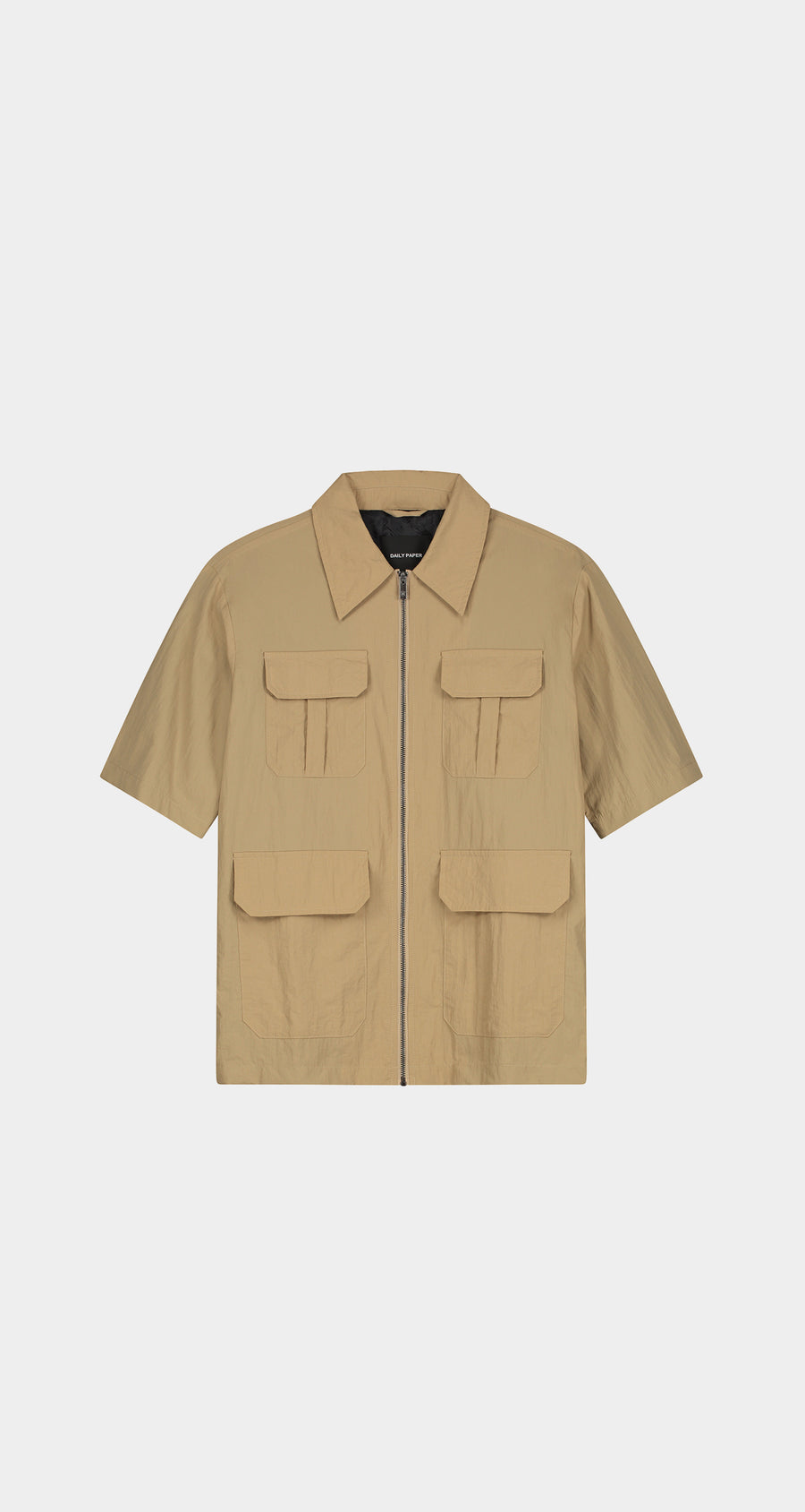 Daily Paper - Beige Khalil Shirt - Men Front