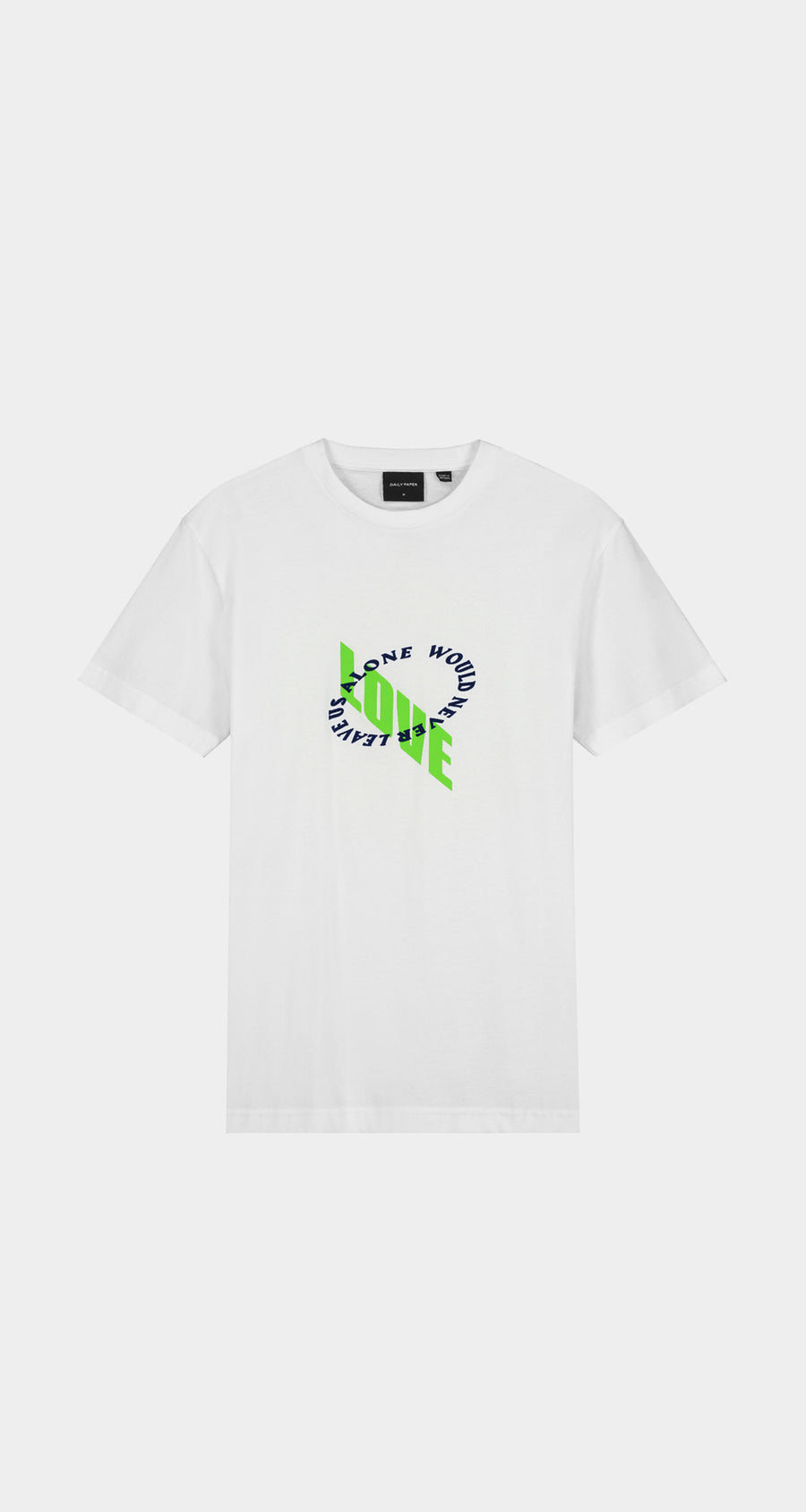 Daily Paper - White Kimwhi Slim T-Shirt - Men Front