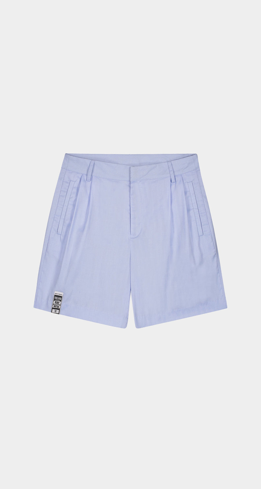 Daily Paper - Light Blue Kohan Shorts - Men Front