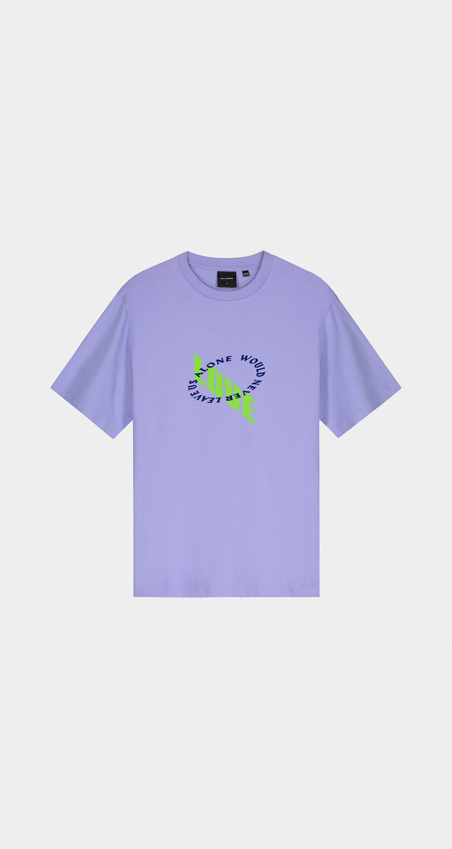 Daily Paper - Jacaranda Purple Korjac T-Shirt - Men Front