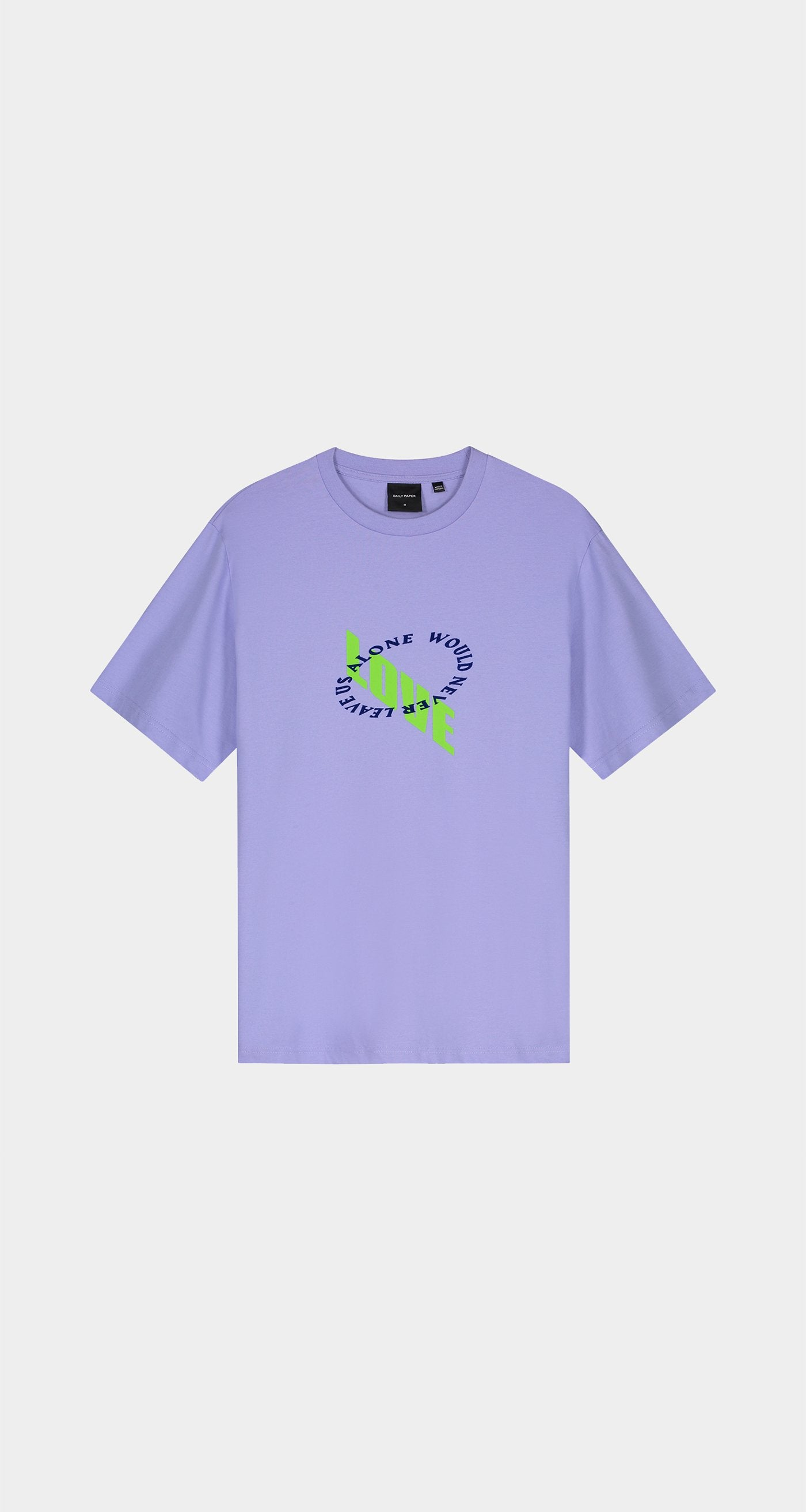 Daily Paper - Jacaranda Purple Korjac T-Shirt - Women Front