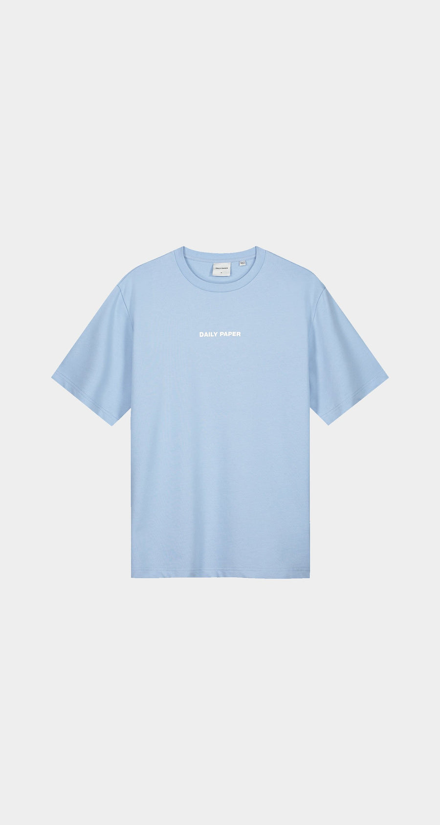 Daily Paper - Chambray Blue Refarid T-Shirt - Women Front