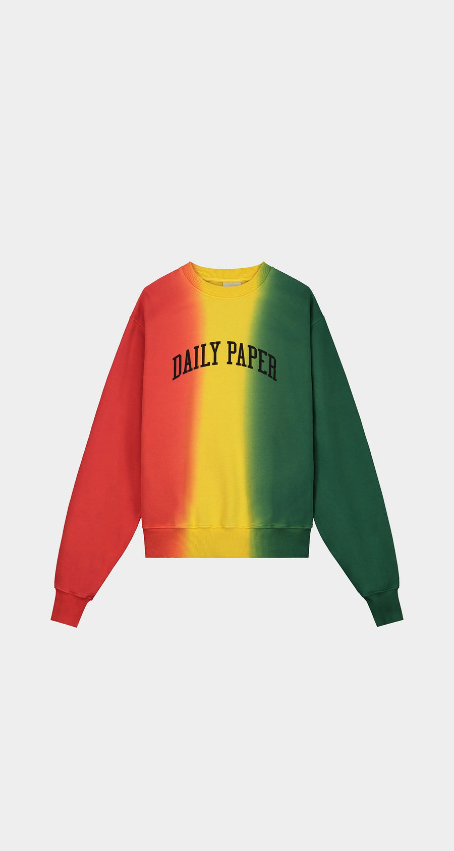 Daily Paper - Red Yellow Green Rebo Sweater - Men Front