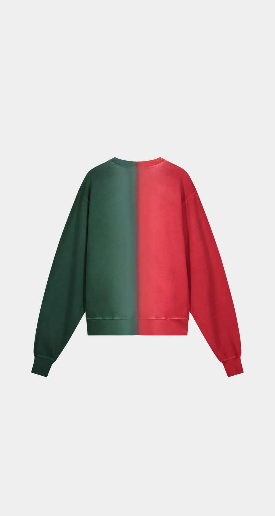 Daily Paper - Red Green Rebo Sweater - Women Rear