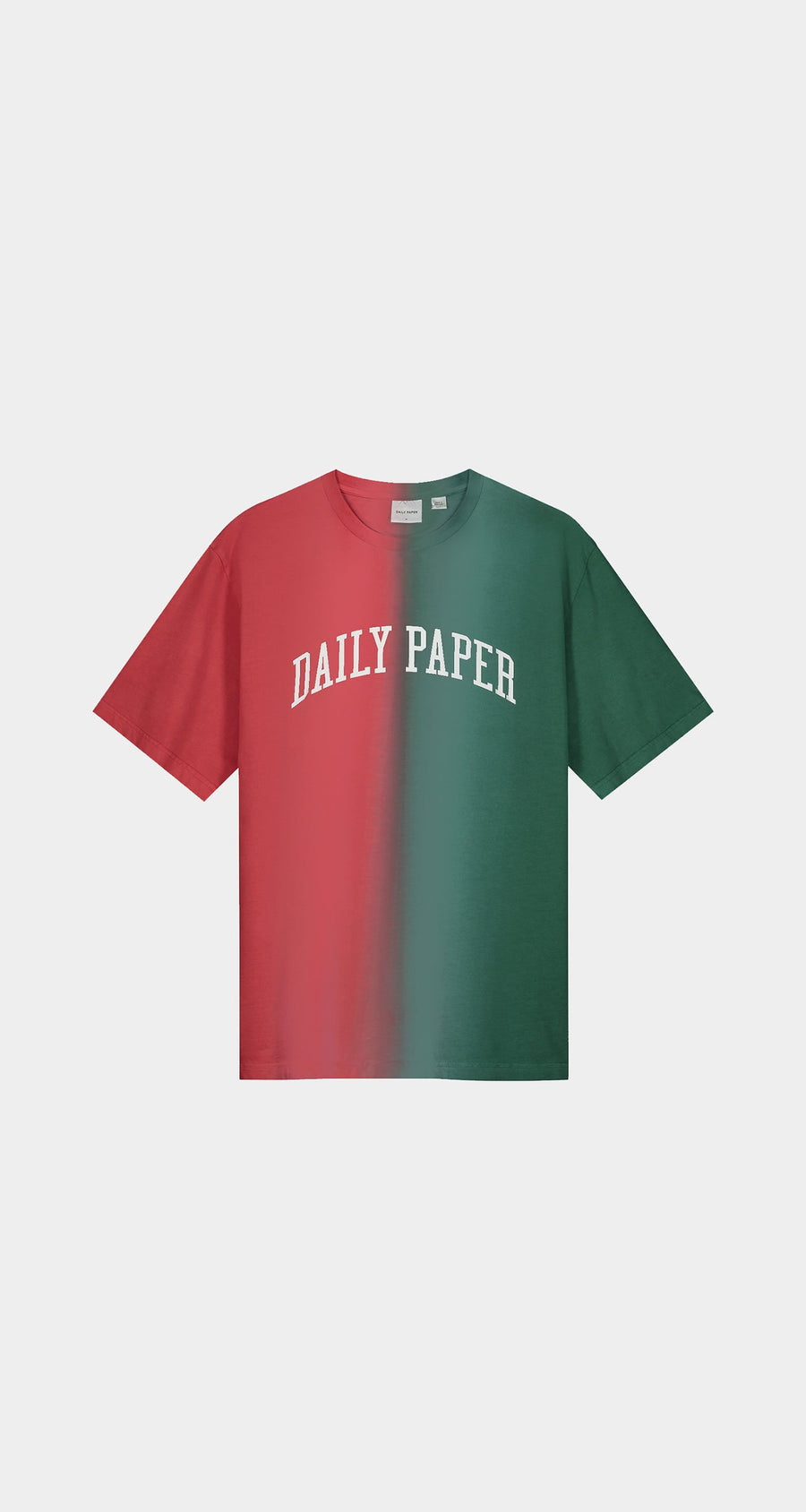 Daily Paper - Red Green Rebo T-Shirt - Men Front