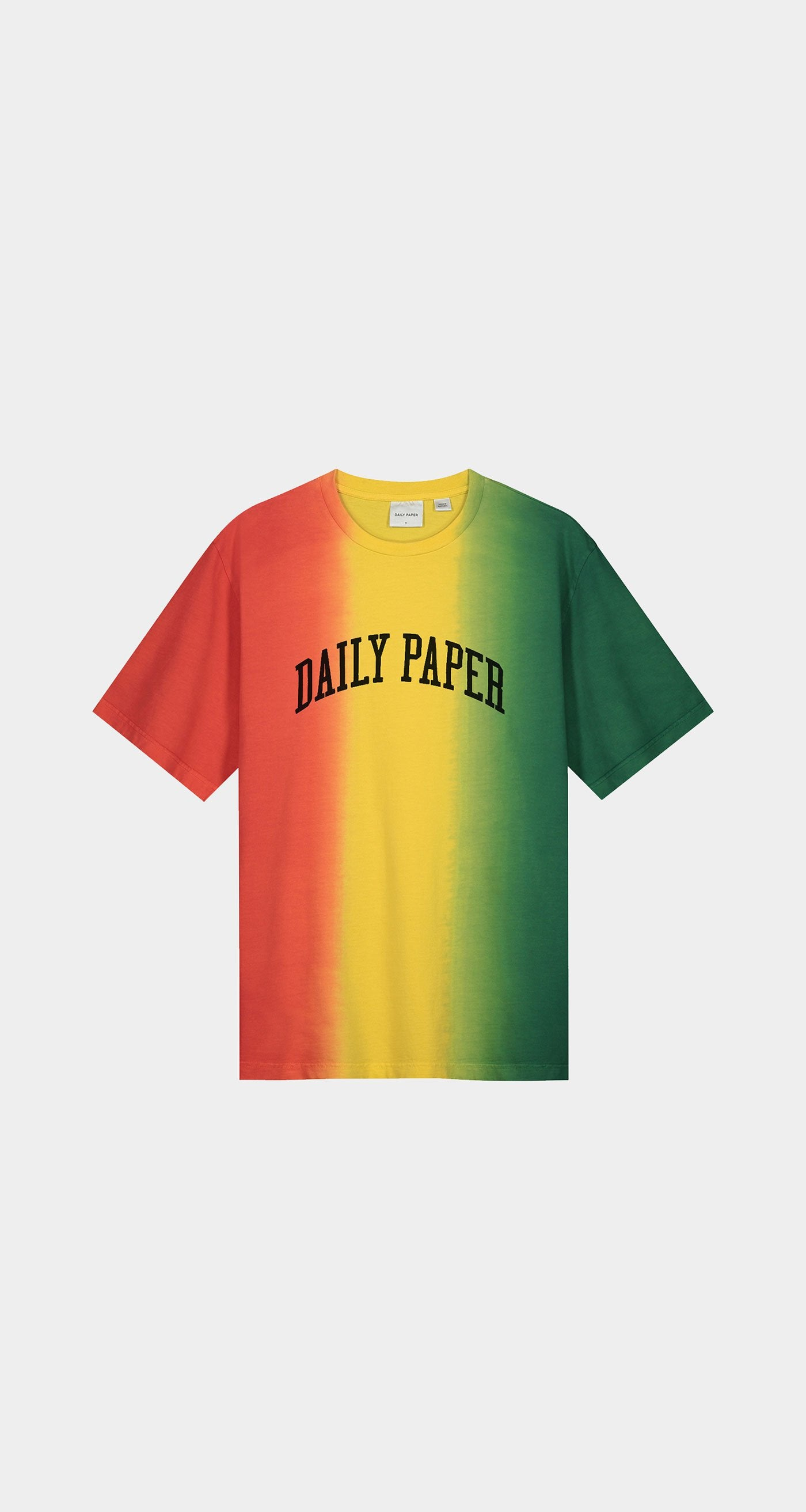 Daily Paper - Red Yellow Green Rebo T-Shirt - Women Front