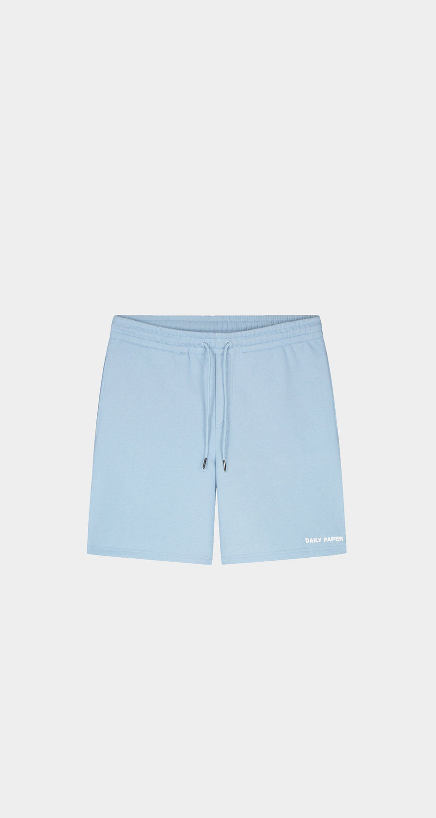 Daily Paper - Chambray Blue Refarid Shorts - Men Front