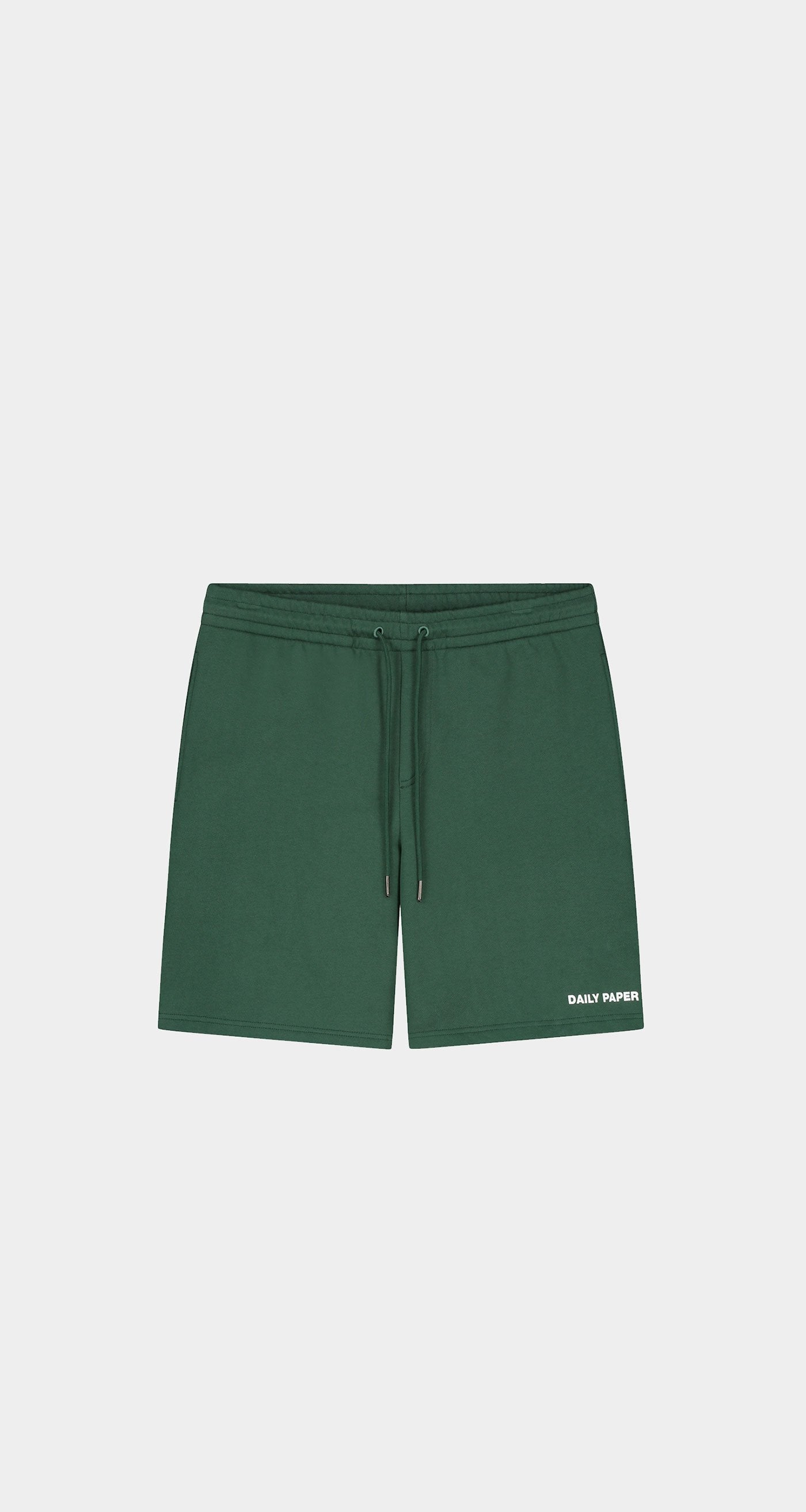 Daily Paper - Pineneedle Green Refarid Shorts - Men Front