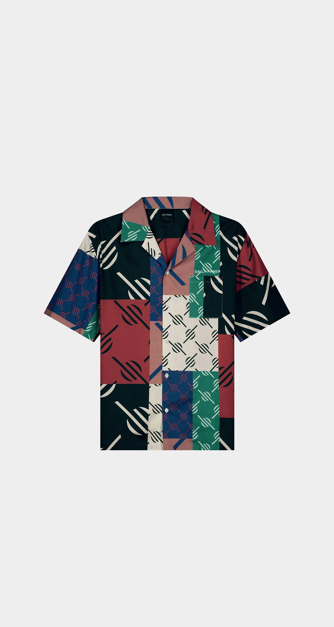Daily Paper - Multi Coloured Repatch Shirt - Men Front