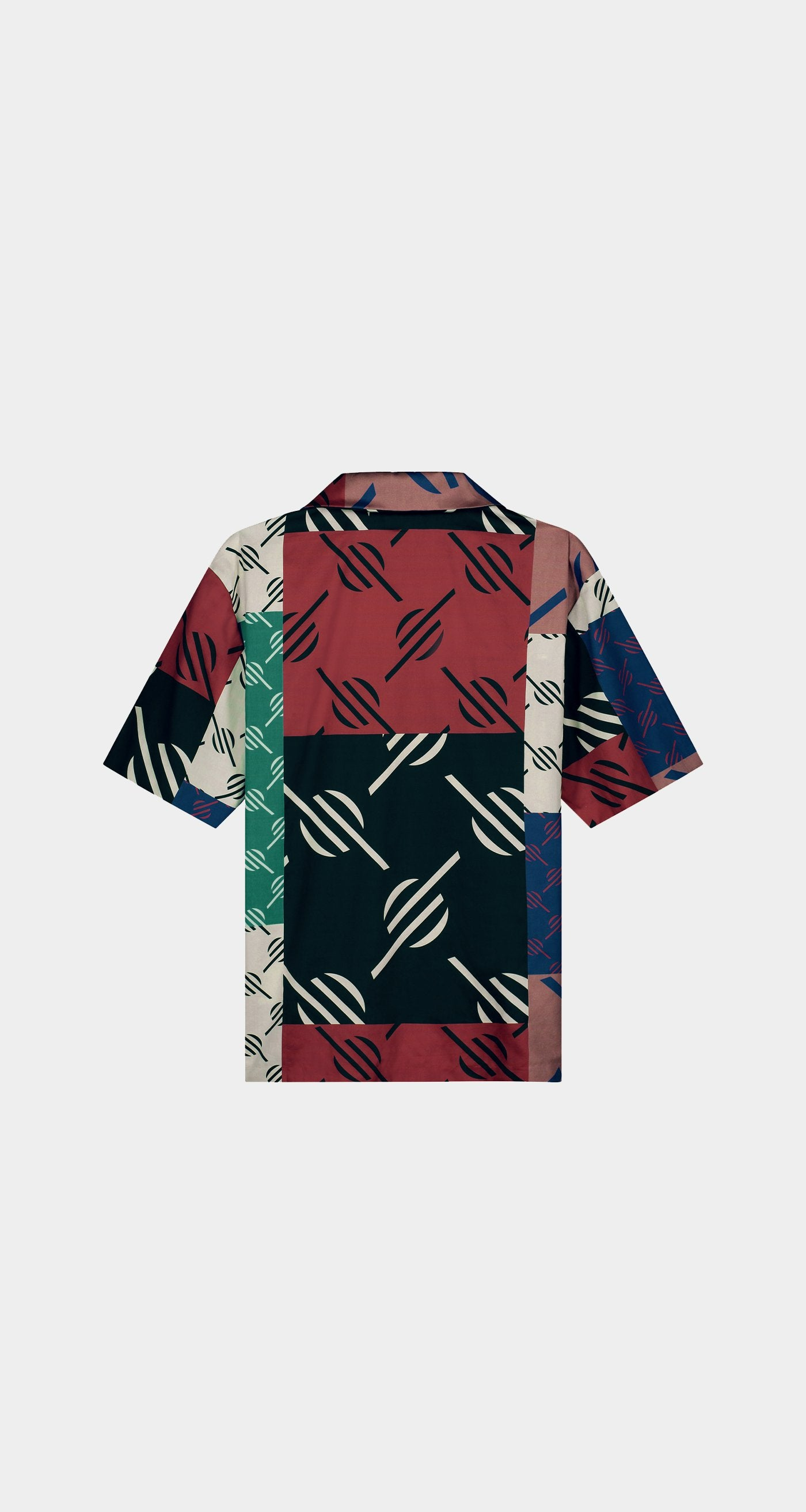 Daily Paper - Multi Coloured Repatch Shirt - Men