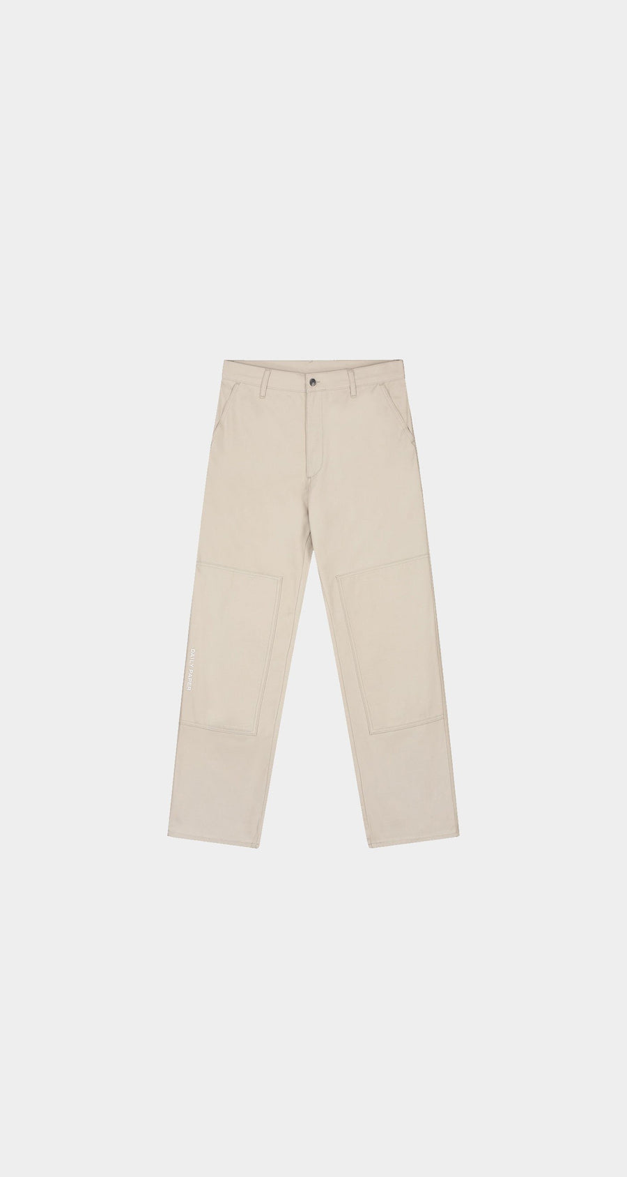 Daily Paper - Beige Rework Pants - Men Front